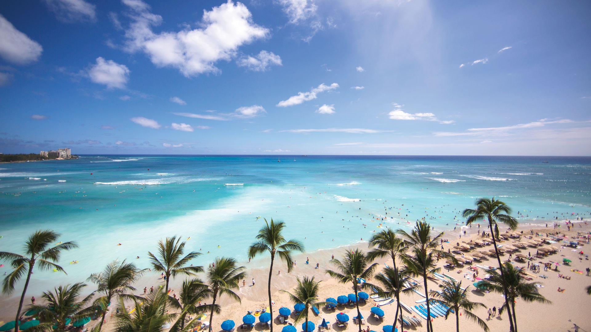 Res: 1920x1080, Waikiki Beach Wallpaper 12
