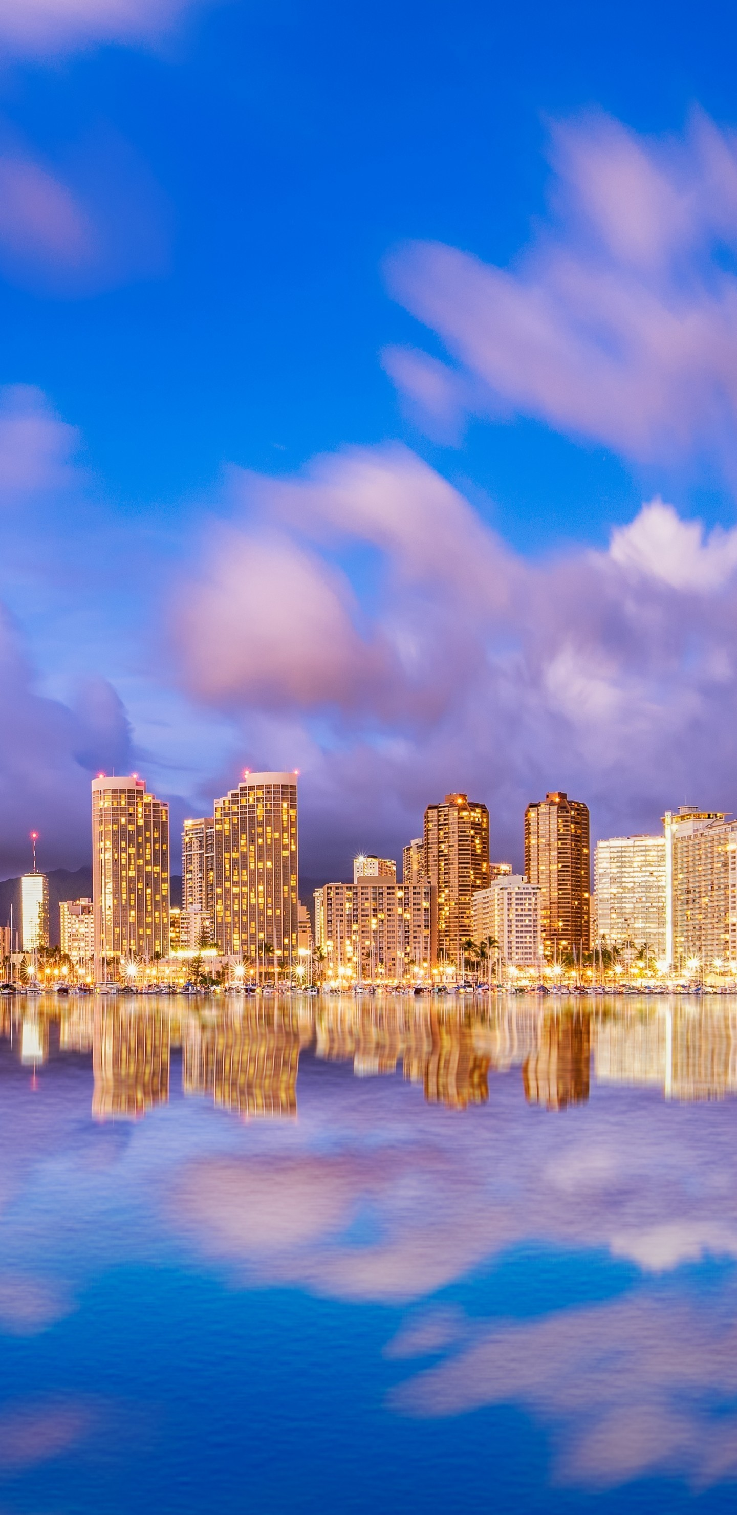 Res: 1440x2960, Beautiful Waikiki Beach Mobile Wallpapers