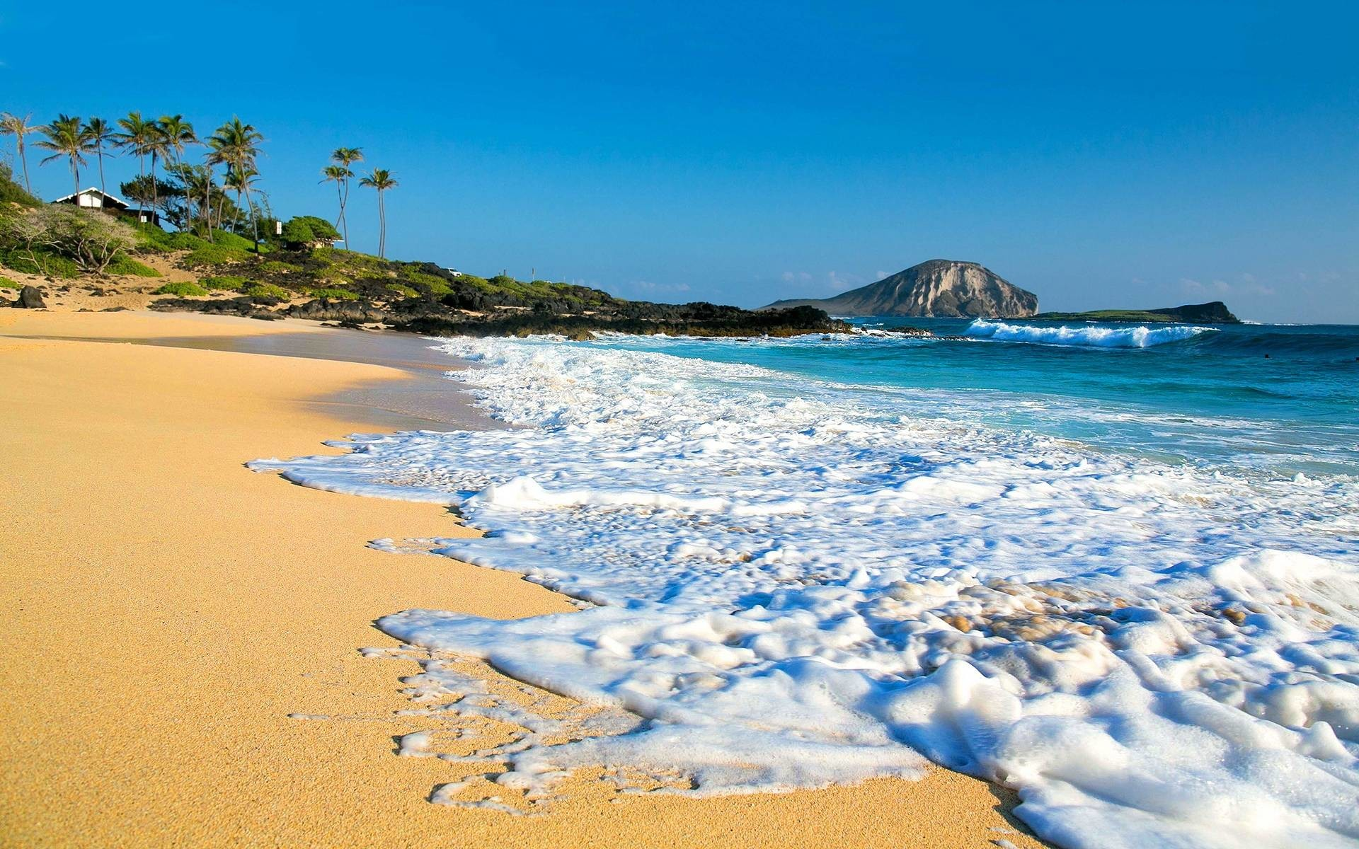 Res: 1920x1200, Hawaii Beaches Wallpaper