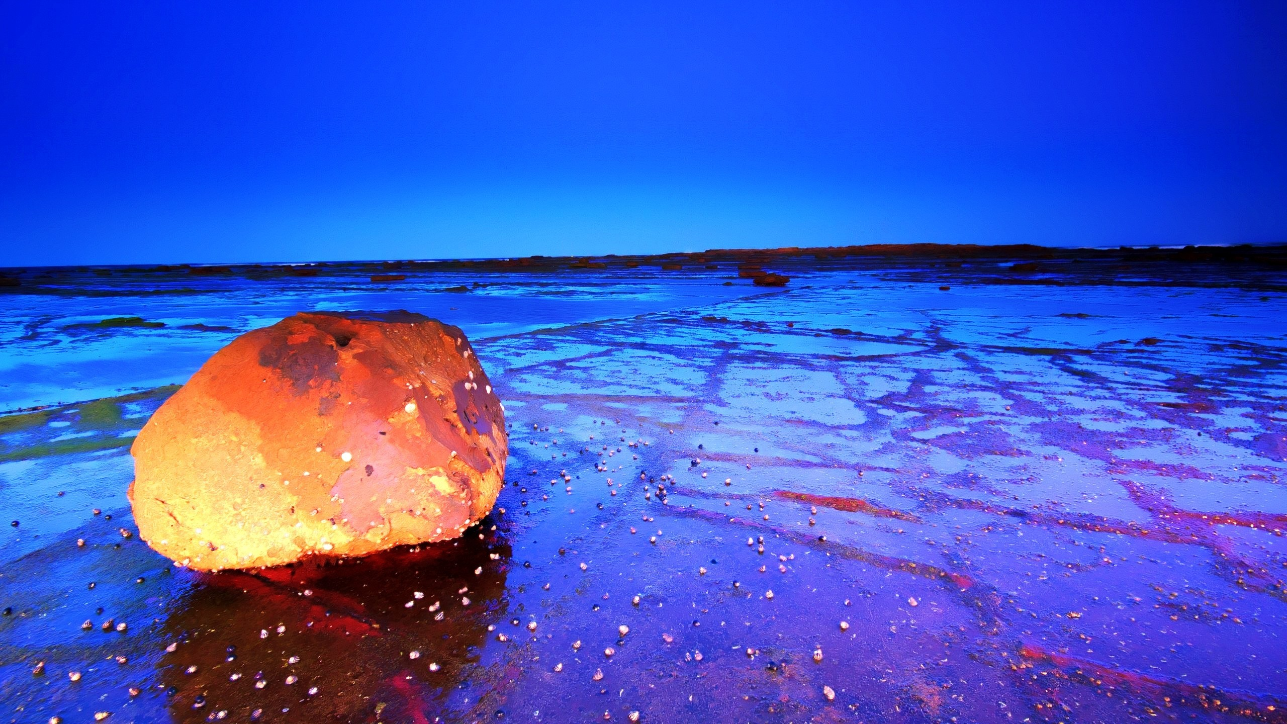 Res: 2560x1440, beach at night wallpapers wallpaper gallery a· night beach wallpapers high  definition