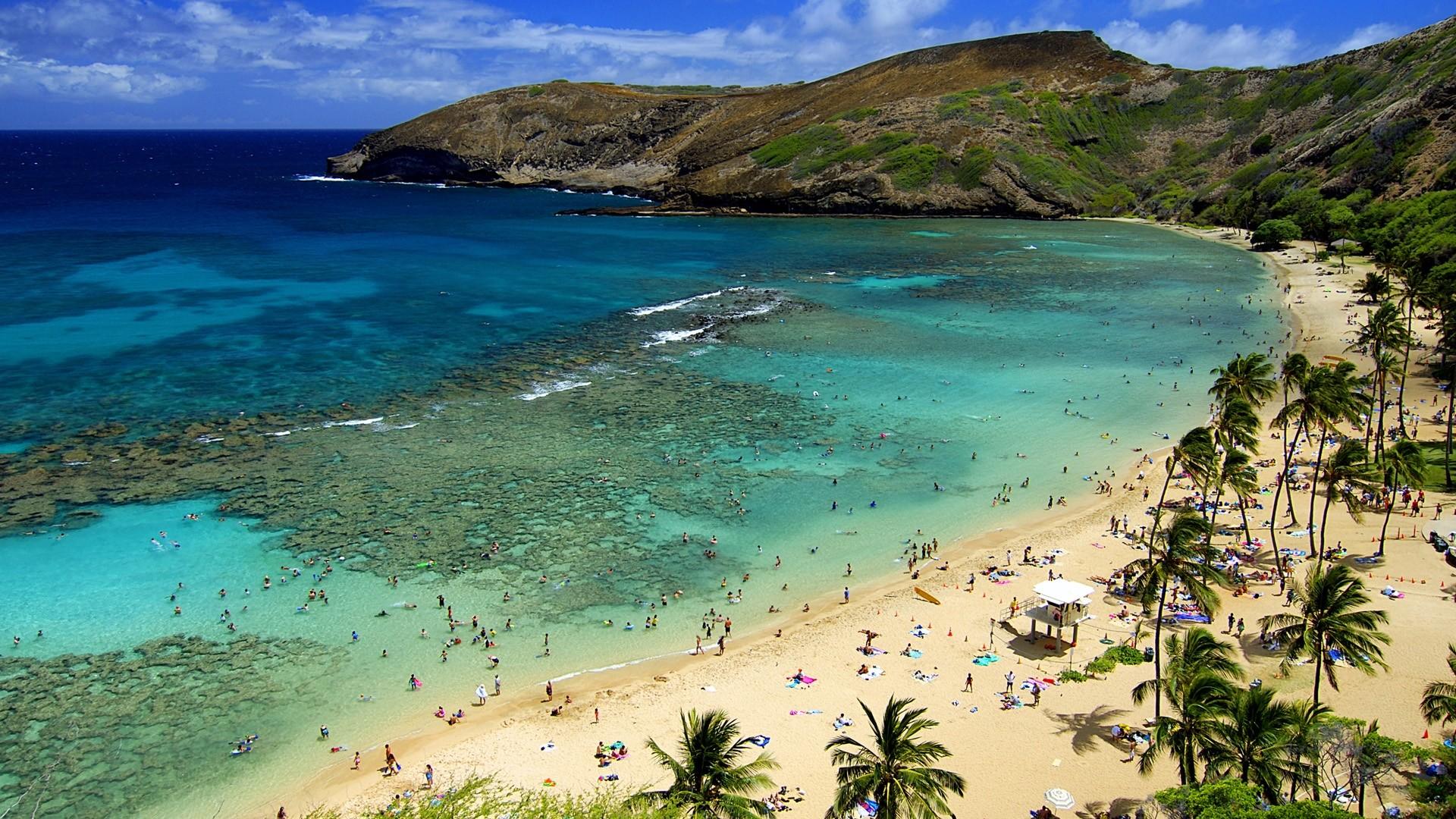 Res: 1920x1080, Afternoon Hawaii Beach Wallpaper Wide 13126 Wallpaper Wallpaper