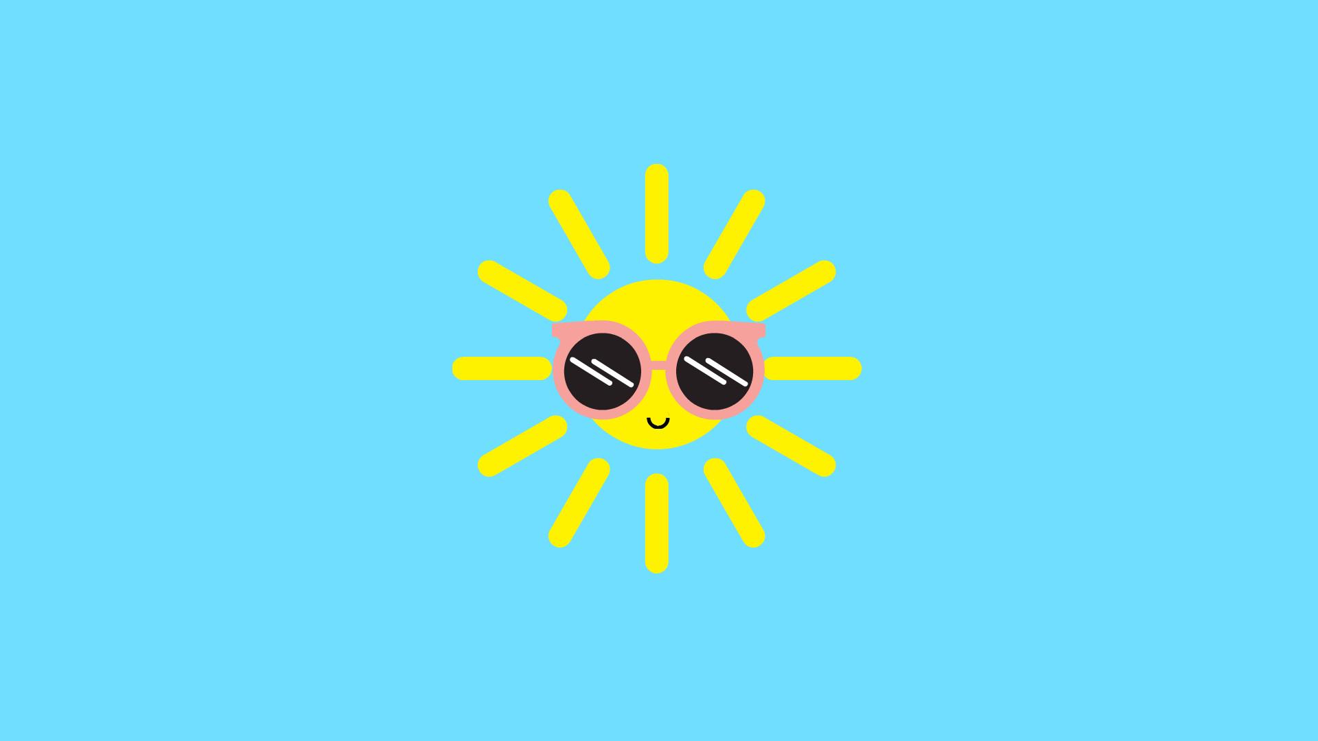 Res: 1920x1080, Happy Lil Sun Desktop Wallpaper ...