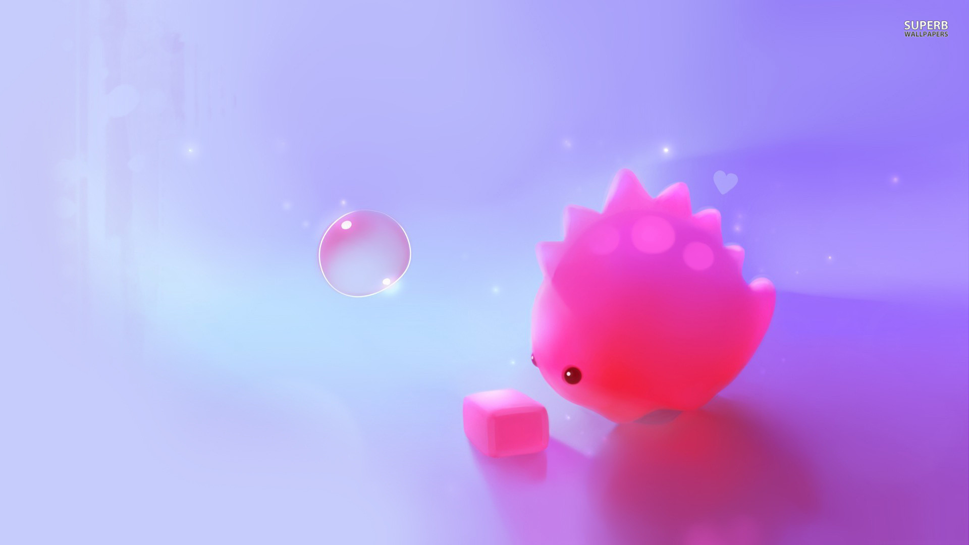 Res: 1920x1080, Desktop Cute Pink Dinosaur Wallpaper