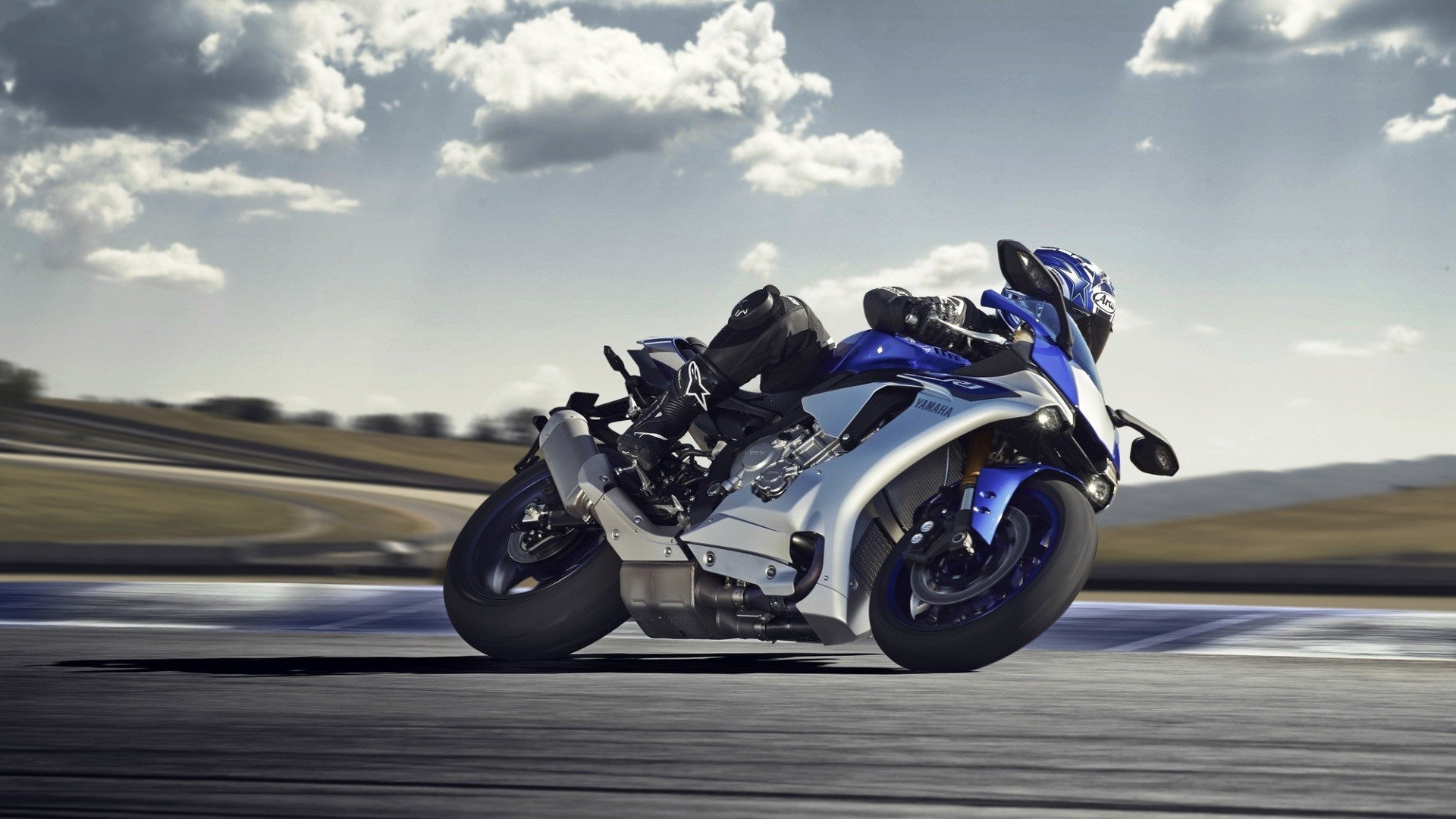 Res: 1920x1080, Awesome Yamaha r1 Wallpaper 2605