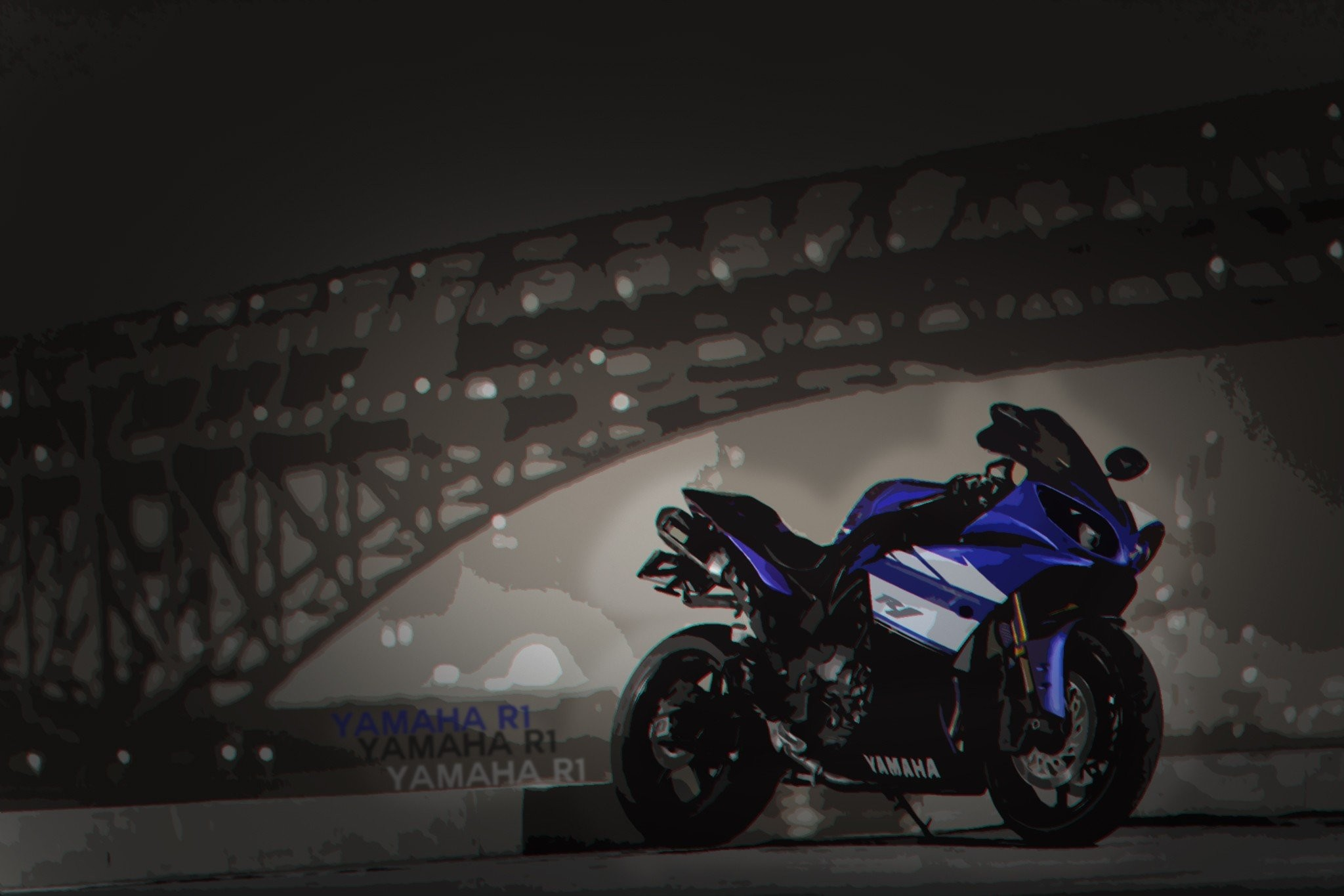 Res: 2048x1365, motorcycle, Yamaha R1, Yamaha YZF R1