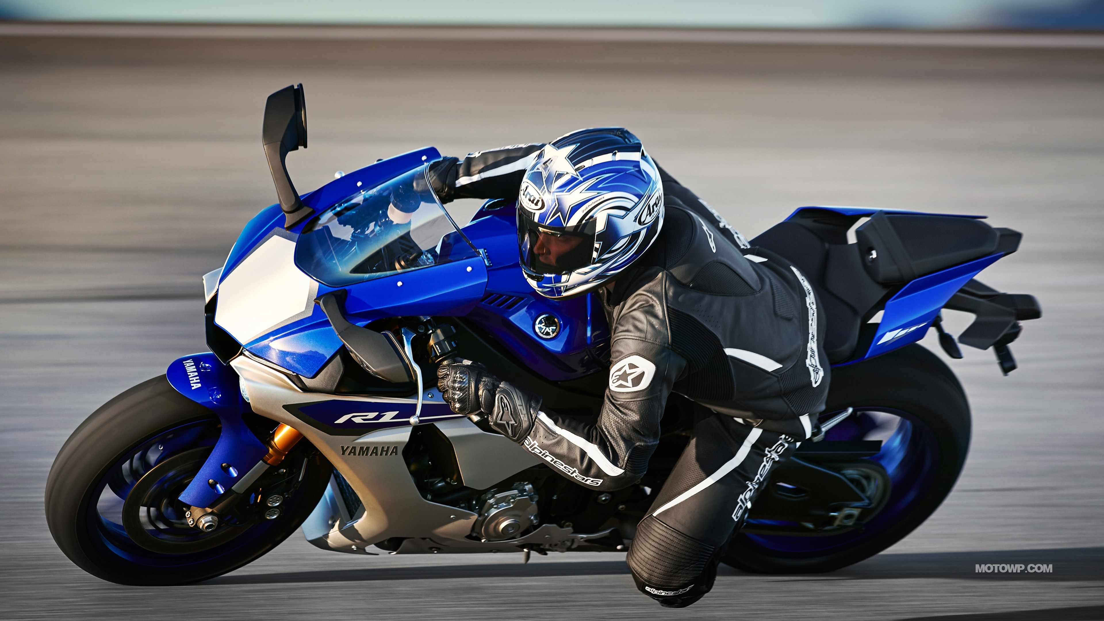 Res: 3840x2160, Motorcycles wallpapers Yamaha YZF-R1 - 2015