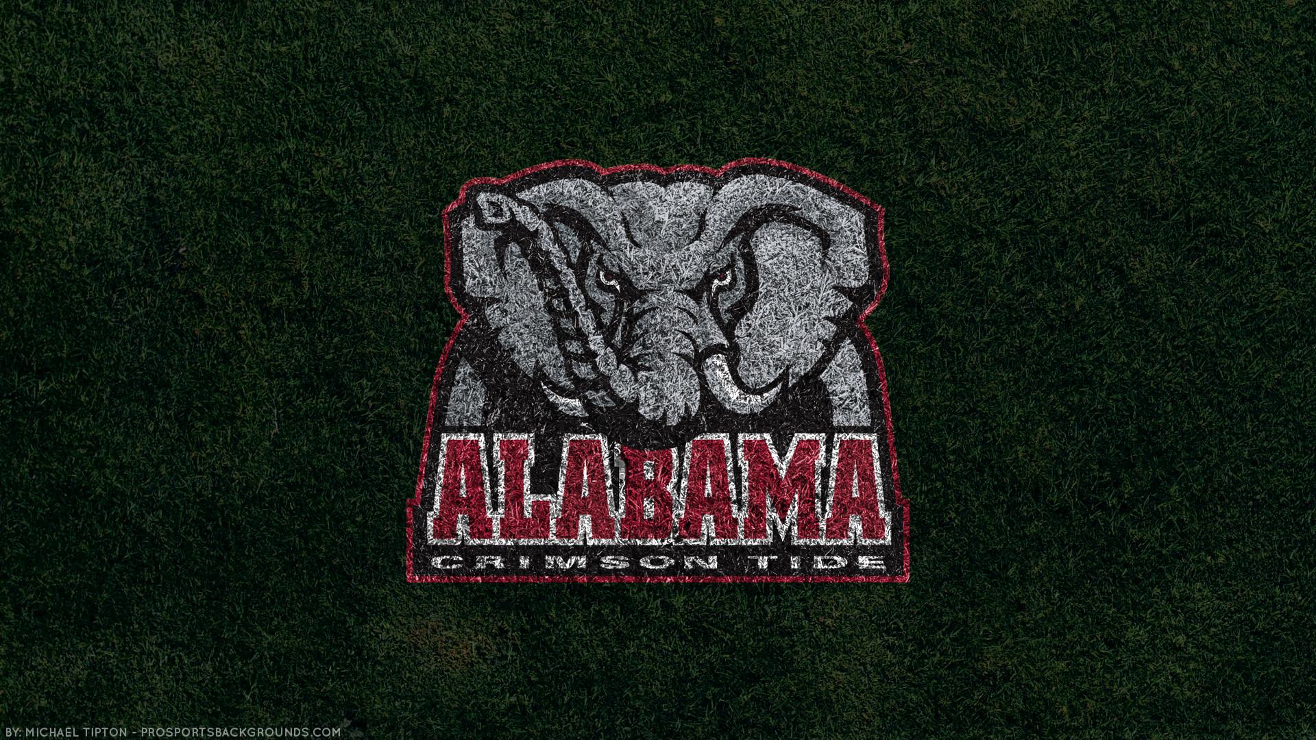 Res: 1920x1080, Alabama Crimson Tide 2018 ncaa football team logo grass wallpaper free for  mac and desktop pc ...