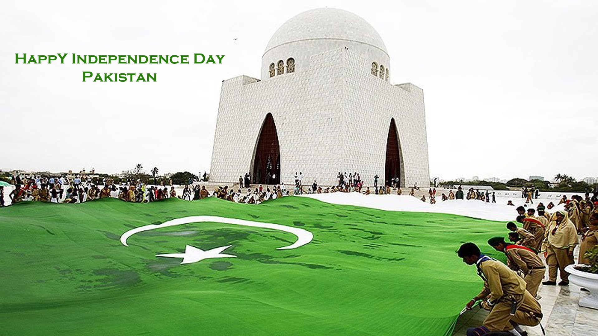 Res: 1920x1080, Pakistani Celebrating Independence On Quaid-e-Azam Mazar Wallpaper