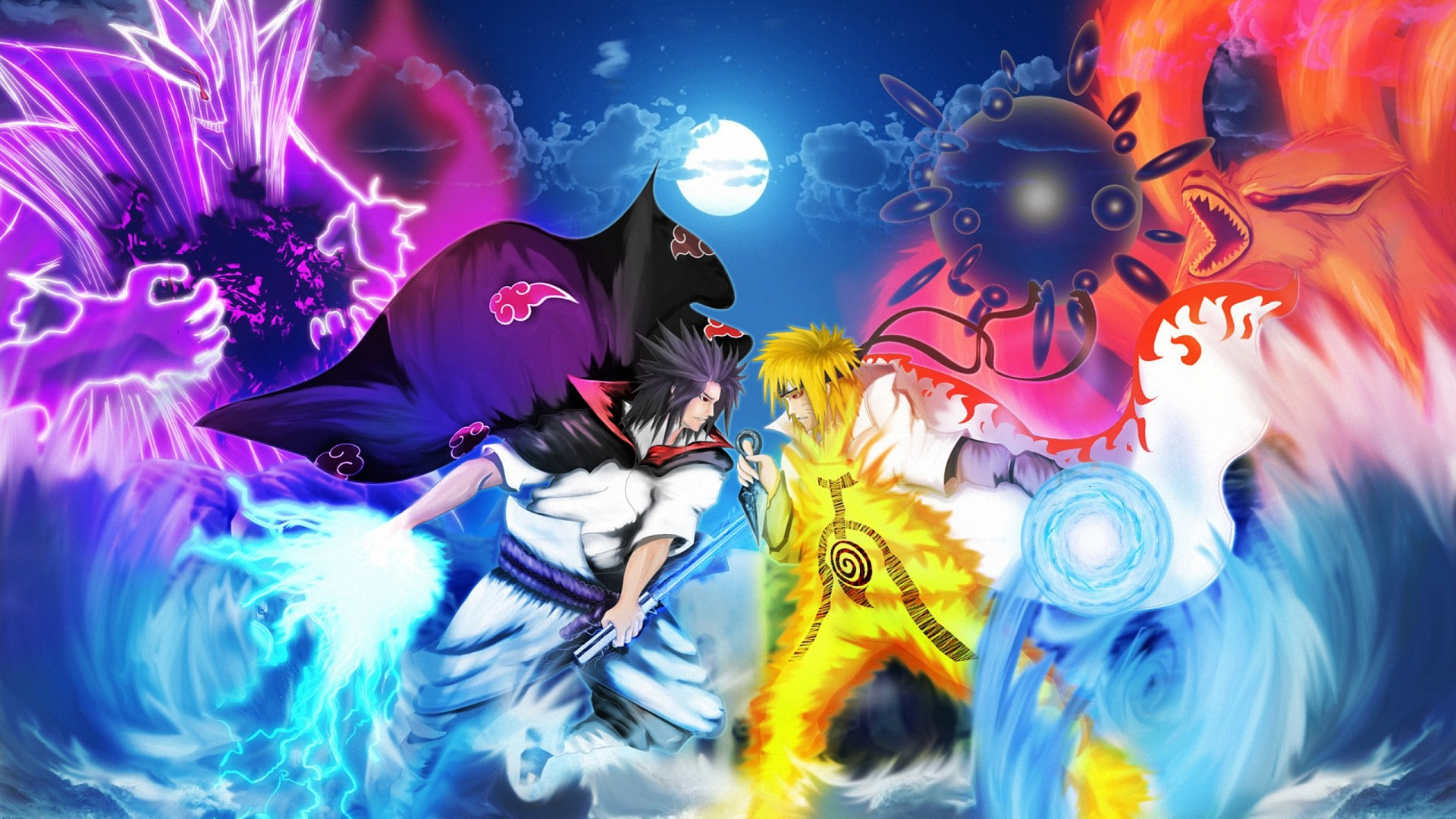 Res: 1920x1080,  naruto shippuden anime wallpapers full HD 1080p desktop  backgrounds