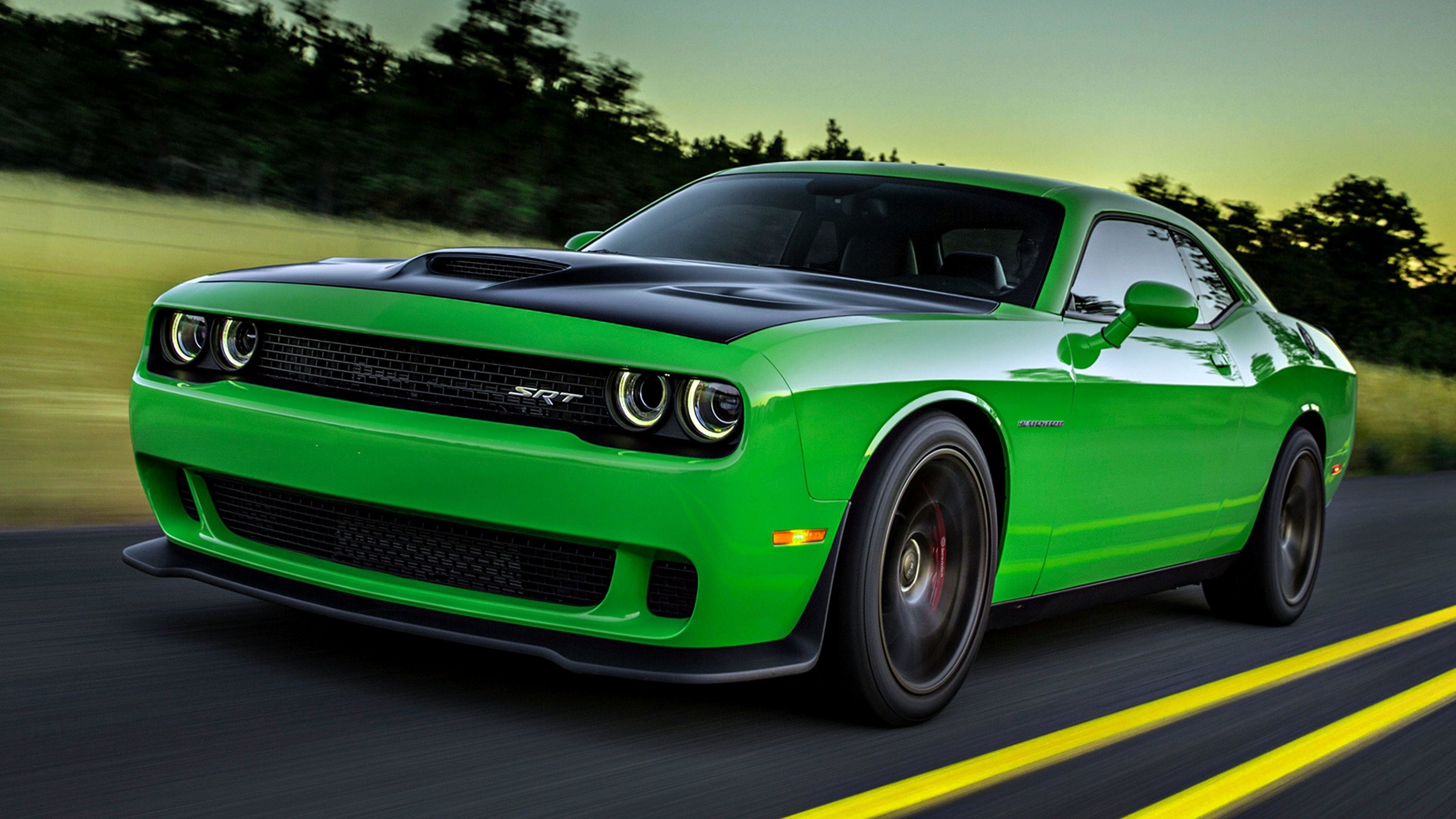 Res: 3840x2160, 34 Dodge Challenger SRT HD Wallpapers | Backgrounds - Wallpaper Abyss