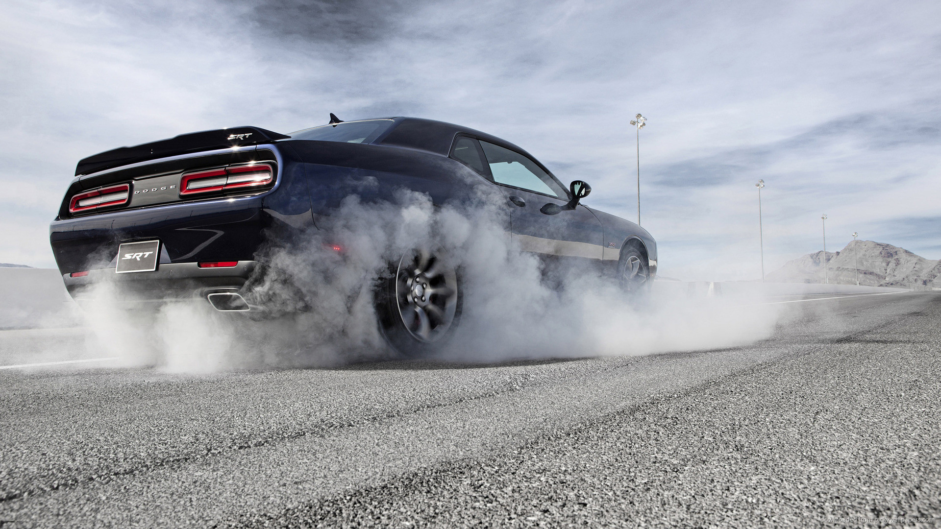 Res: 1920x1080, HD Dodge Challenger Black Hellcat 4k Pictures for Android
