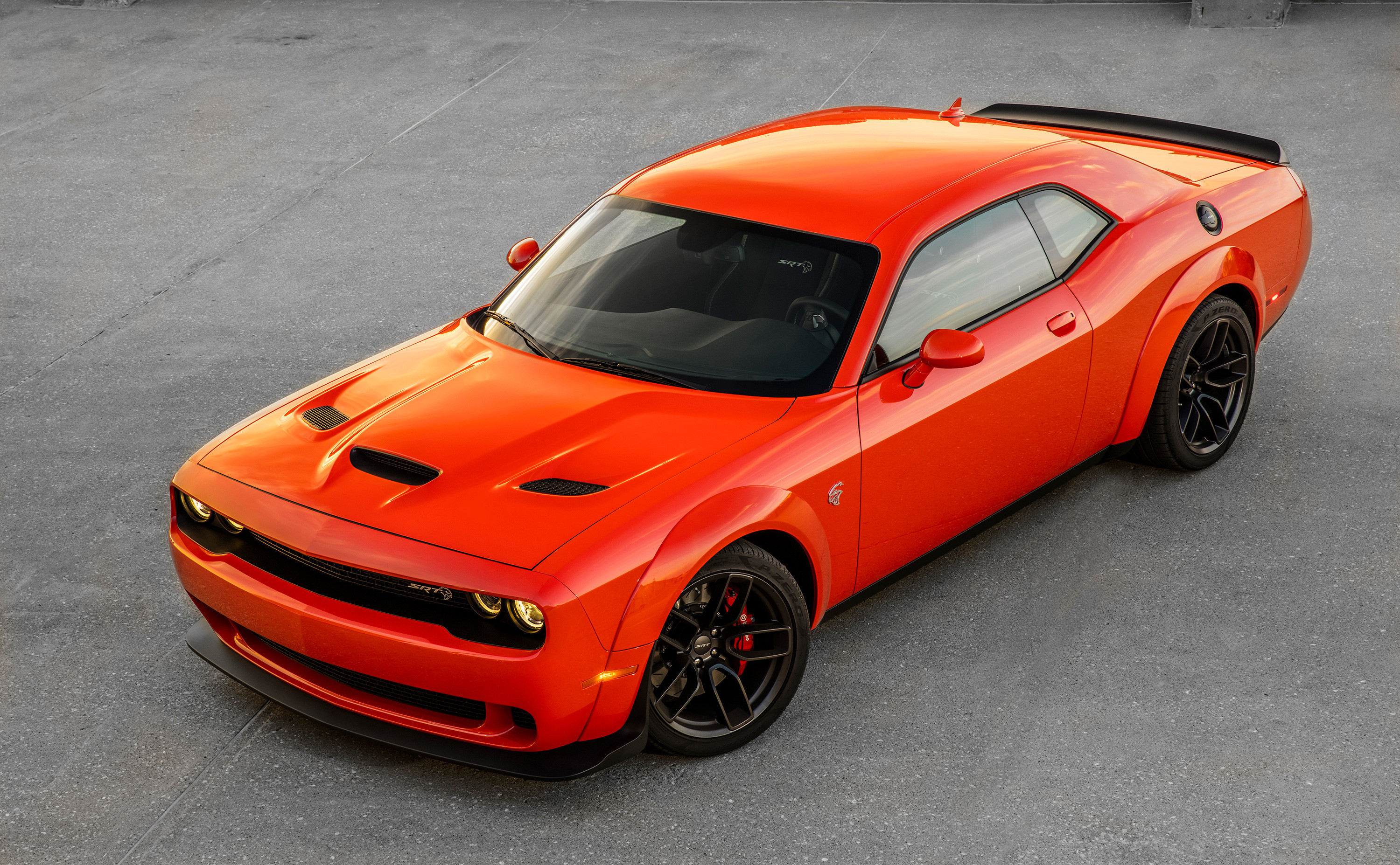 Res: 3000x1855, Dodge Challenger SRT Hellcat Widebody 2018 4k