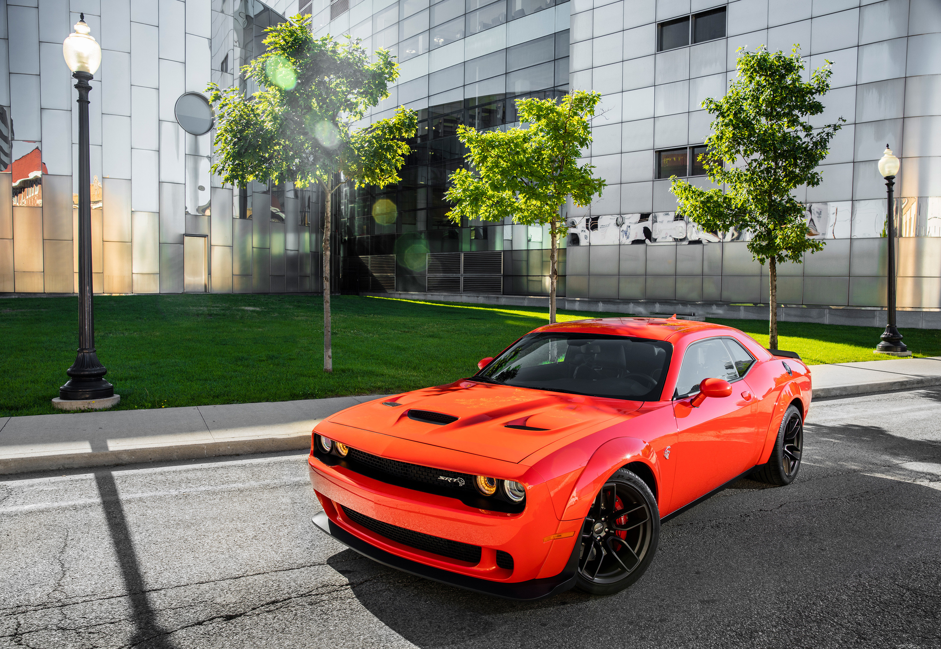 Res: 3000x2068, Dodge Challenger SRT Hellcat Widebody 4k
