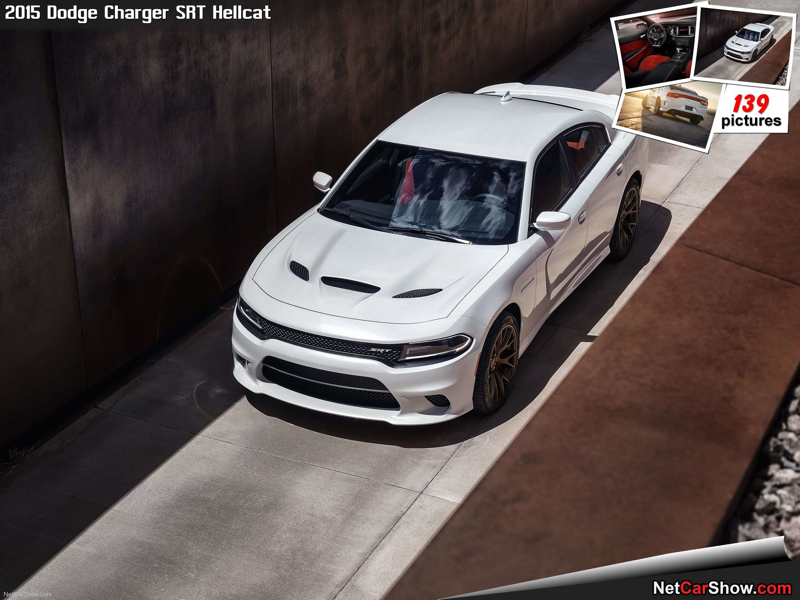 Res: 2560x1920, Dodge Charger SRT Hellcat (2015)