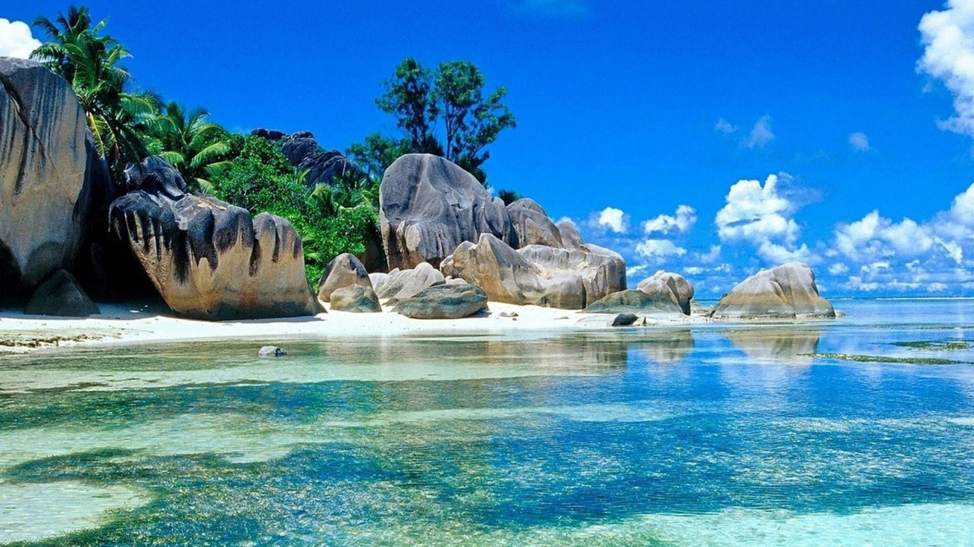 Res: 1920x1080, Seychelles Islands ☀ Wallpaper | Wallpaper Studio 10 | Tens of thousands HD  and UltraHD wallpapers for Android, Windows and Xbox