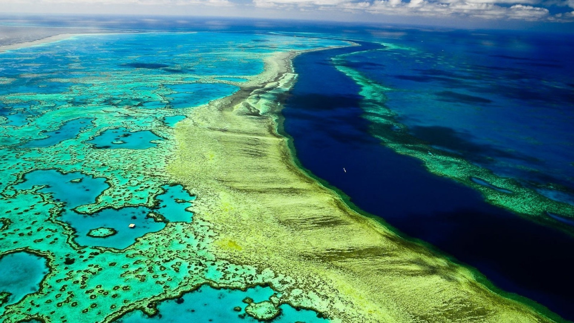 Res: 1920x1080, Great Barrier Reef Queensland Australia Beautiful Wallpaper | HD Wallpapers