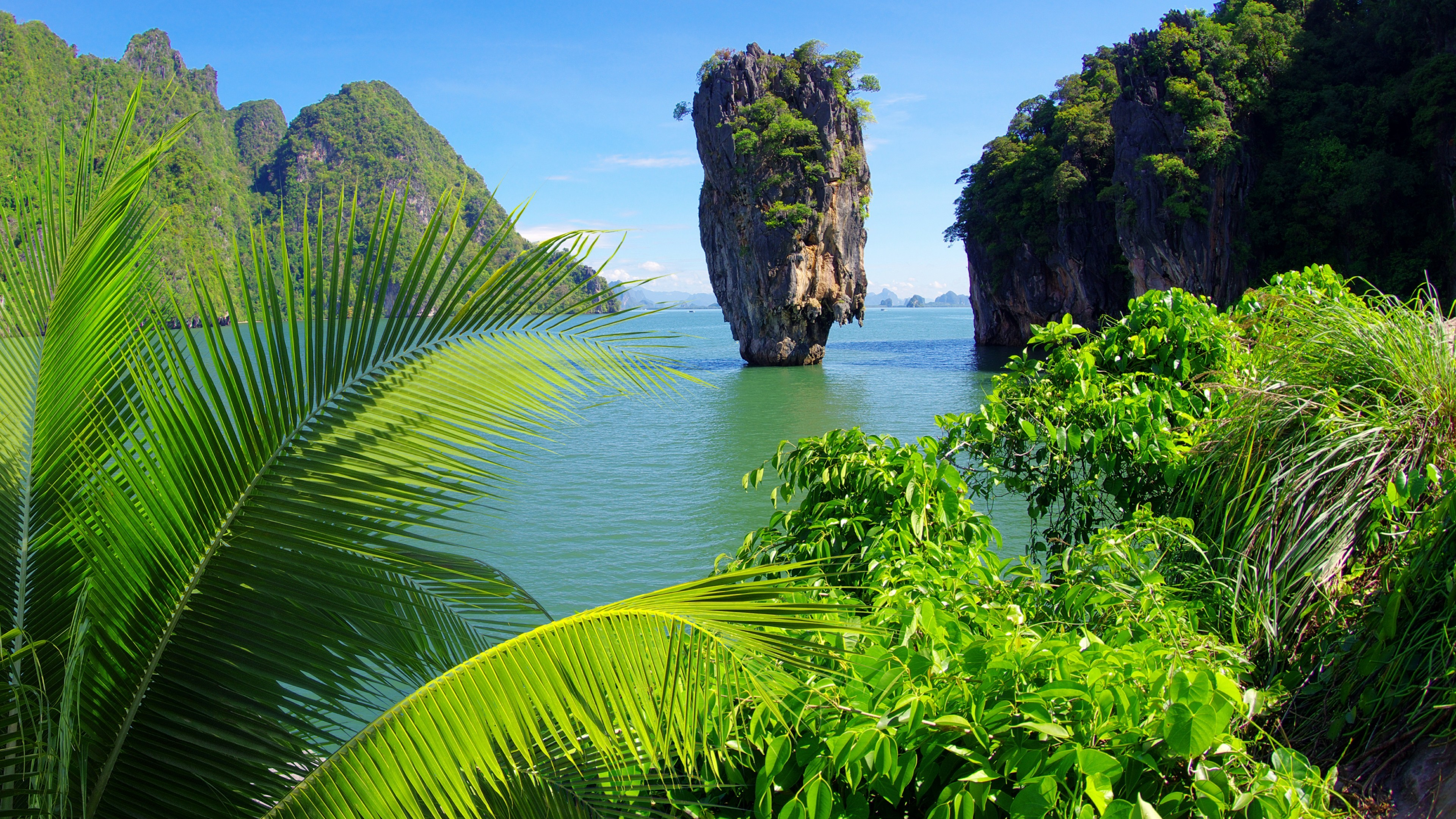 Res: 3840x2160, Ko Tapu (James Bond Island) Wallpaper | Wallpaper Studio 10 | Tens of  thousands HD and UltraHD wallpapers for Android, Windows and Xbox