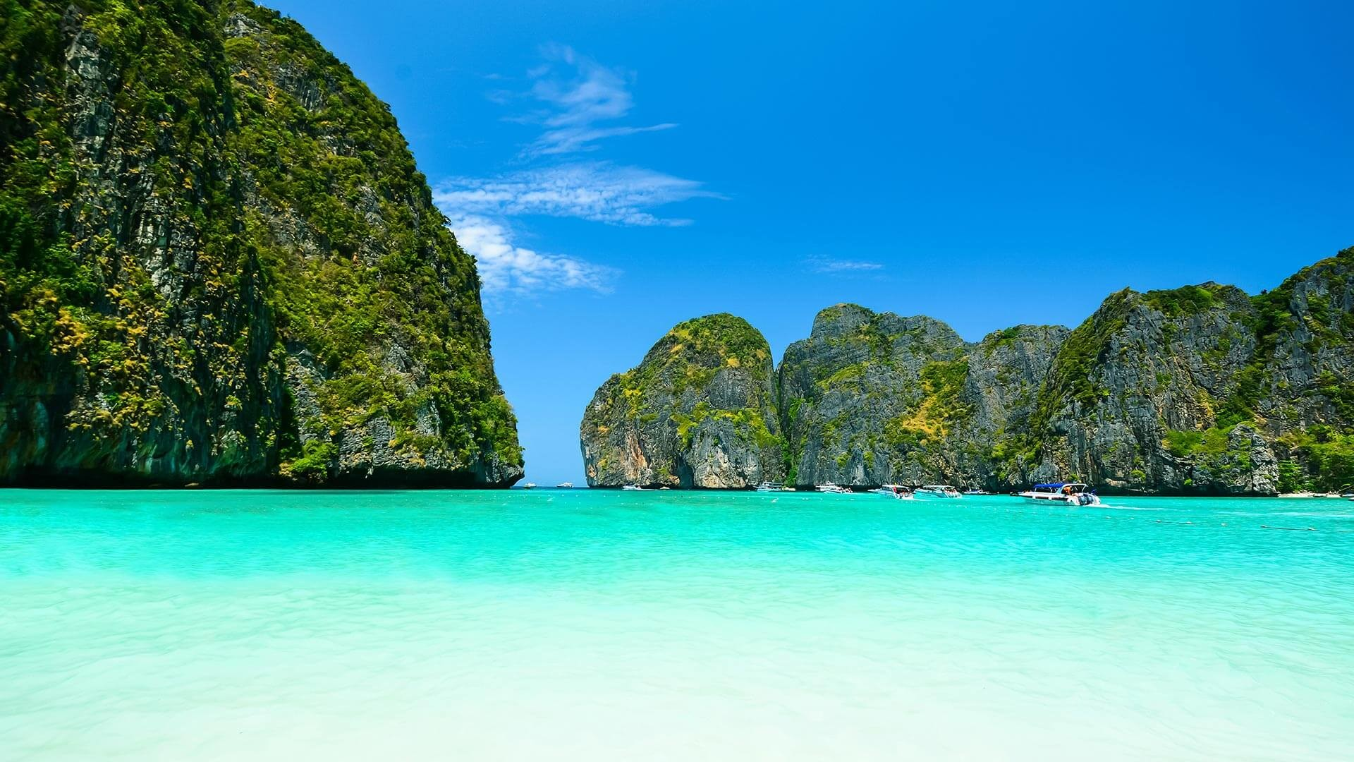 Res: 1920x1080, Phi Phi Island Thailand Widescreen Wallpaper