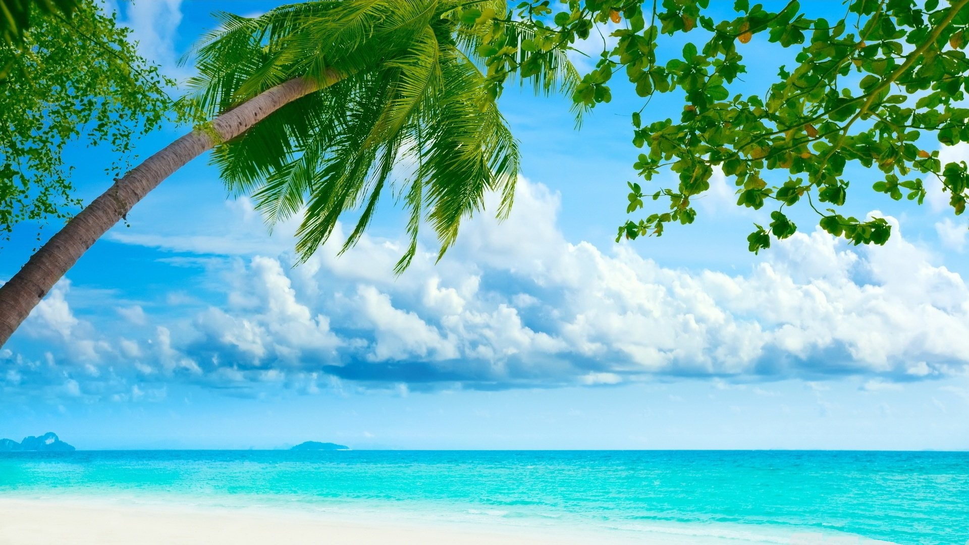 Res: 1920x1080, Tropical Island Wallpaper wallpapers HD Desktop Wallpapers