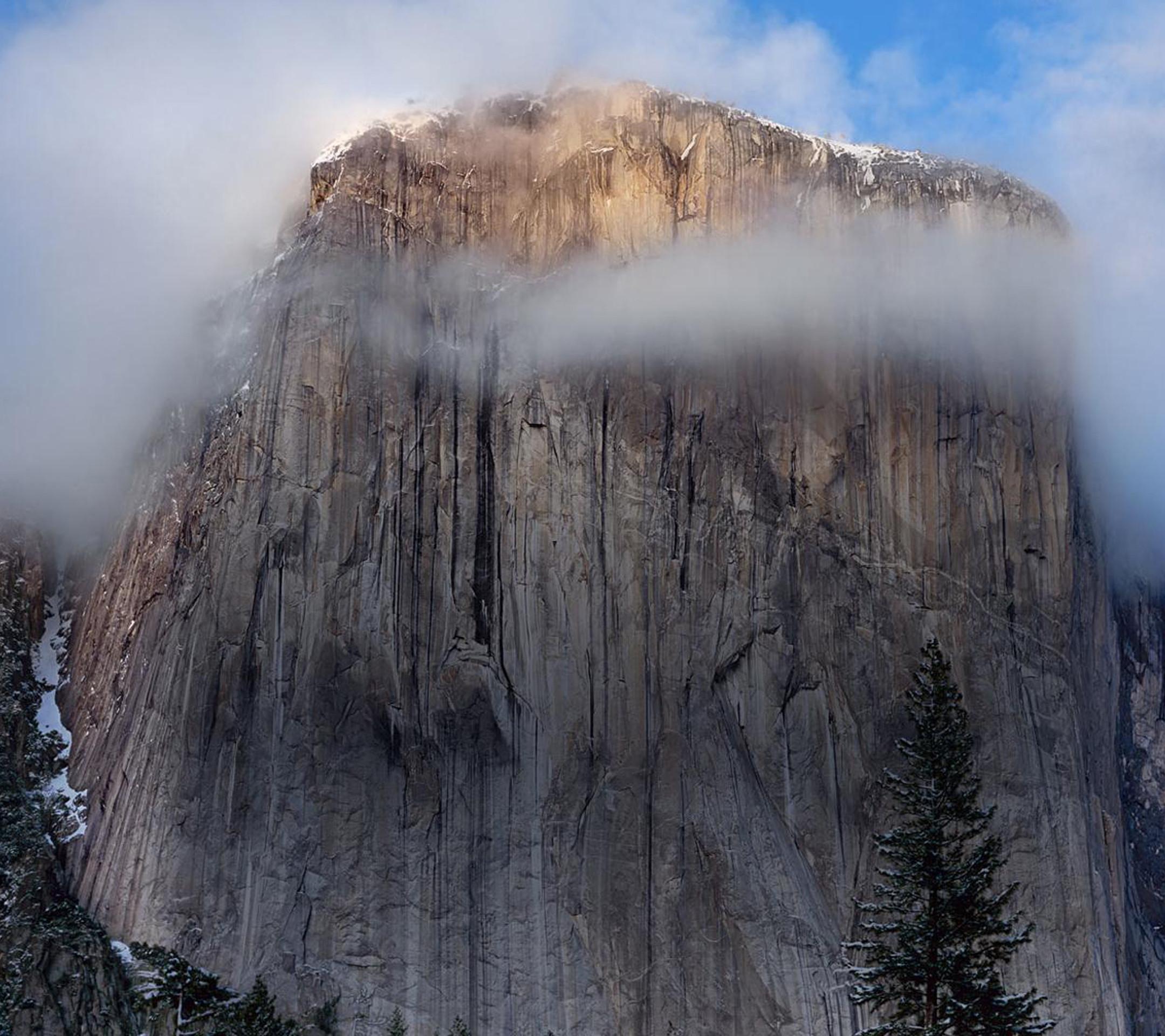 Res: 2160x1920, Apple Mac OSX Yosemite Cliff Desktop Wallpaper Uploaded by DesktopWalls