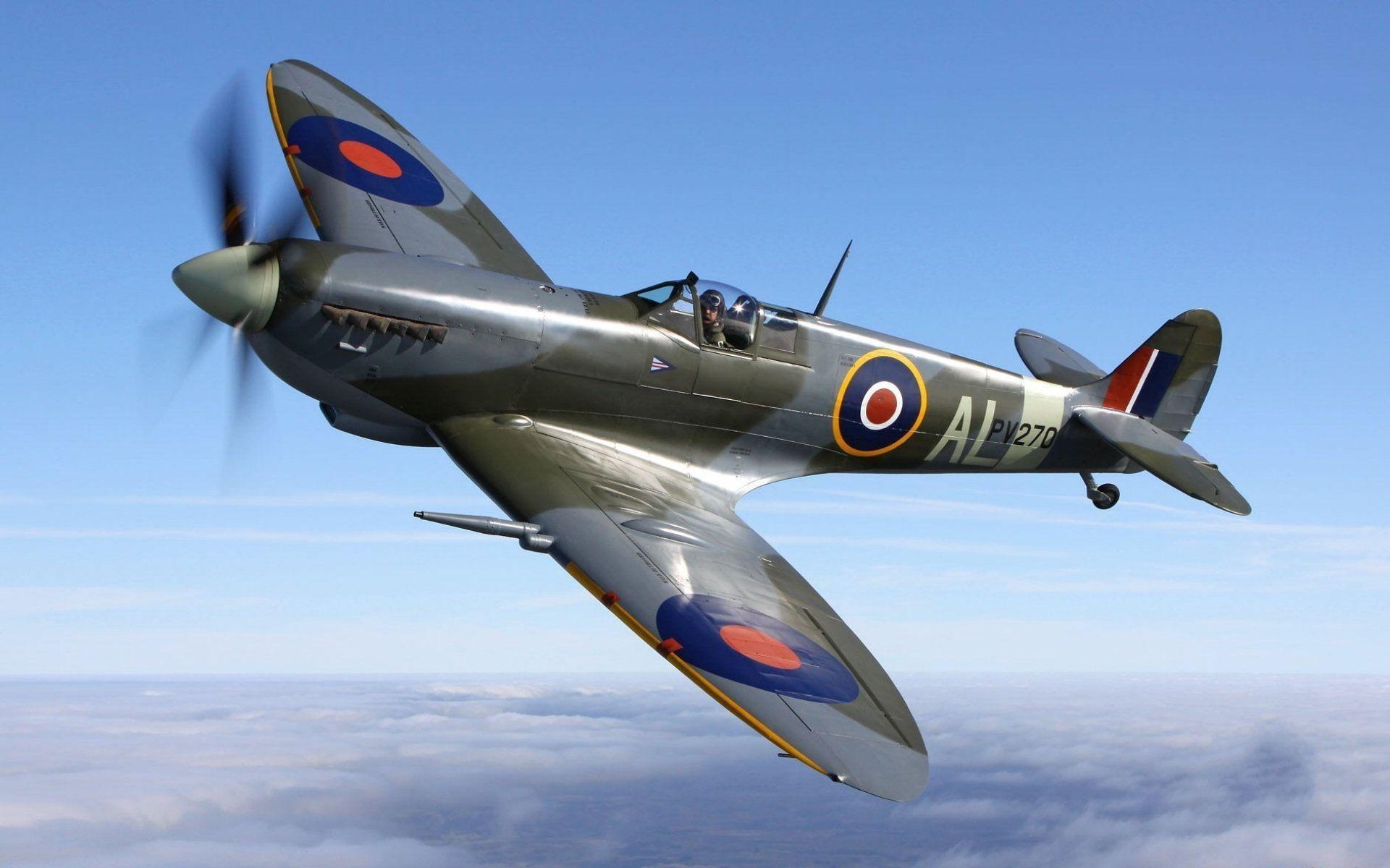 Res: 1920x1200, Spitfire Wallpaper