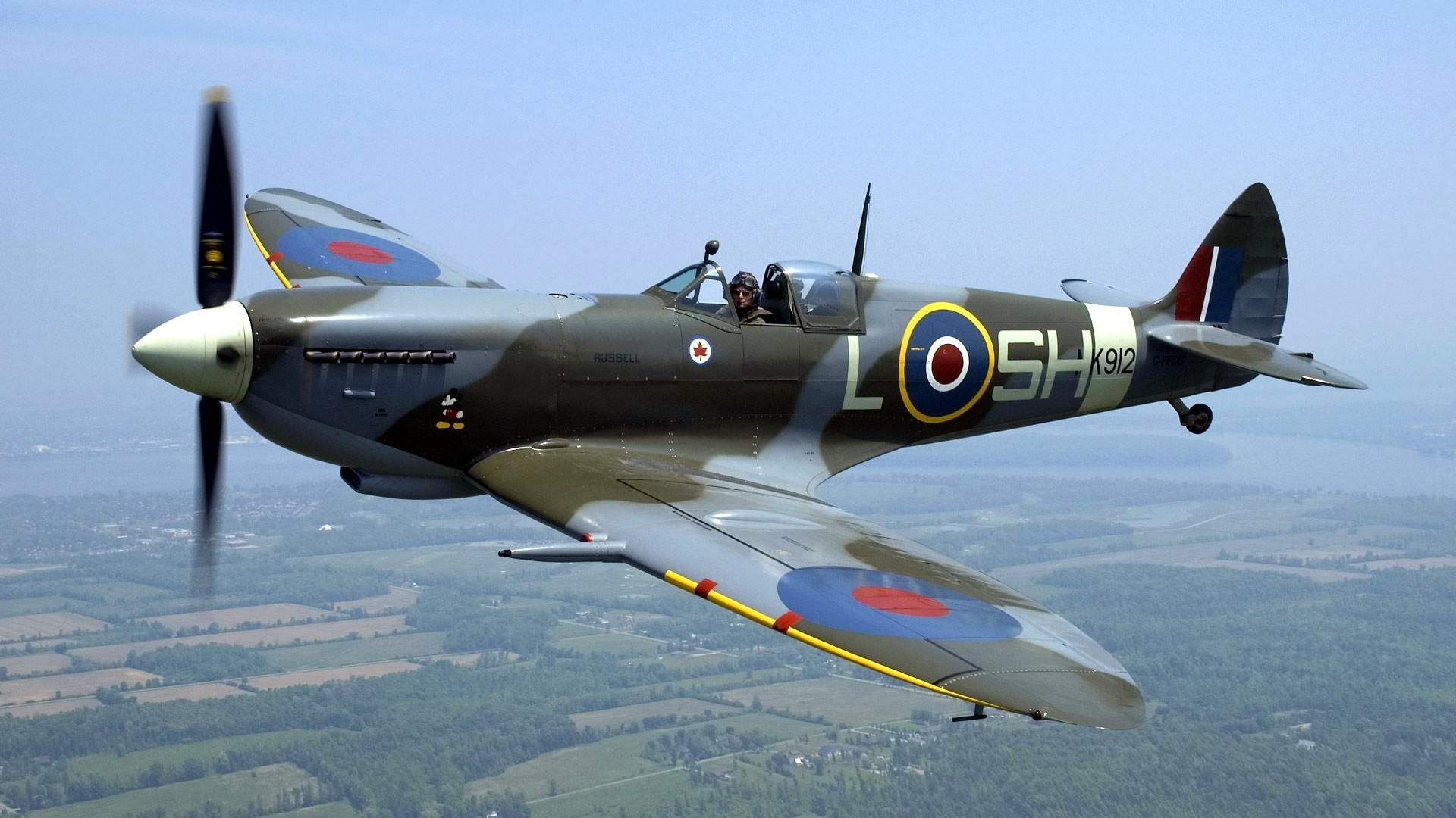 Res: 1920x1080, Spitfire