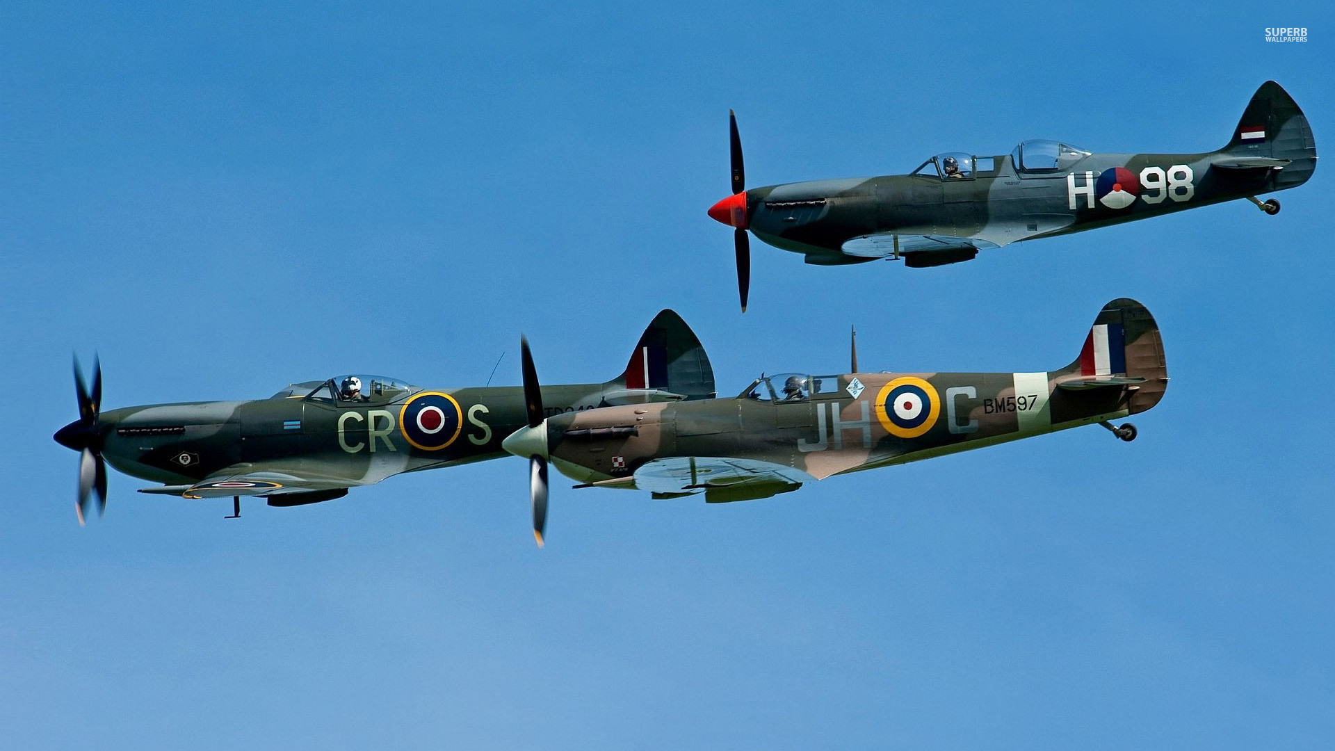 Res: 1920x1080, Supermarine Spitfire Wallpapers Group 67