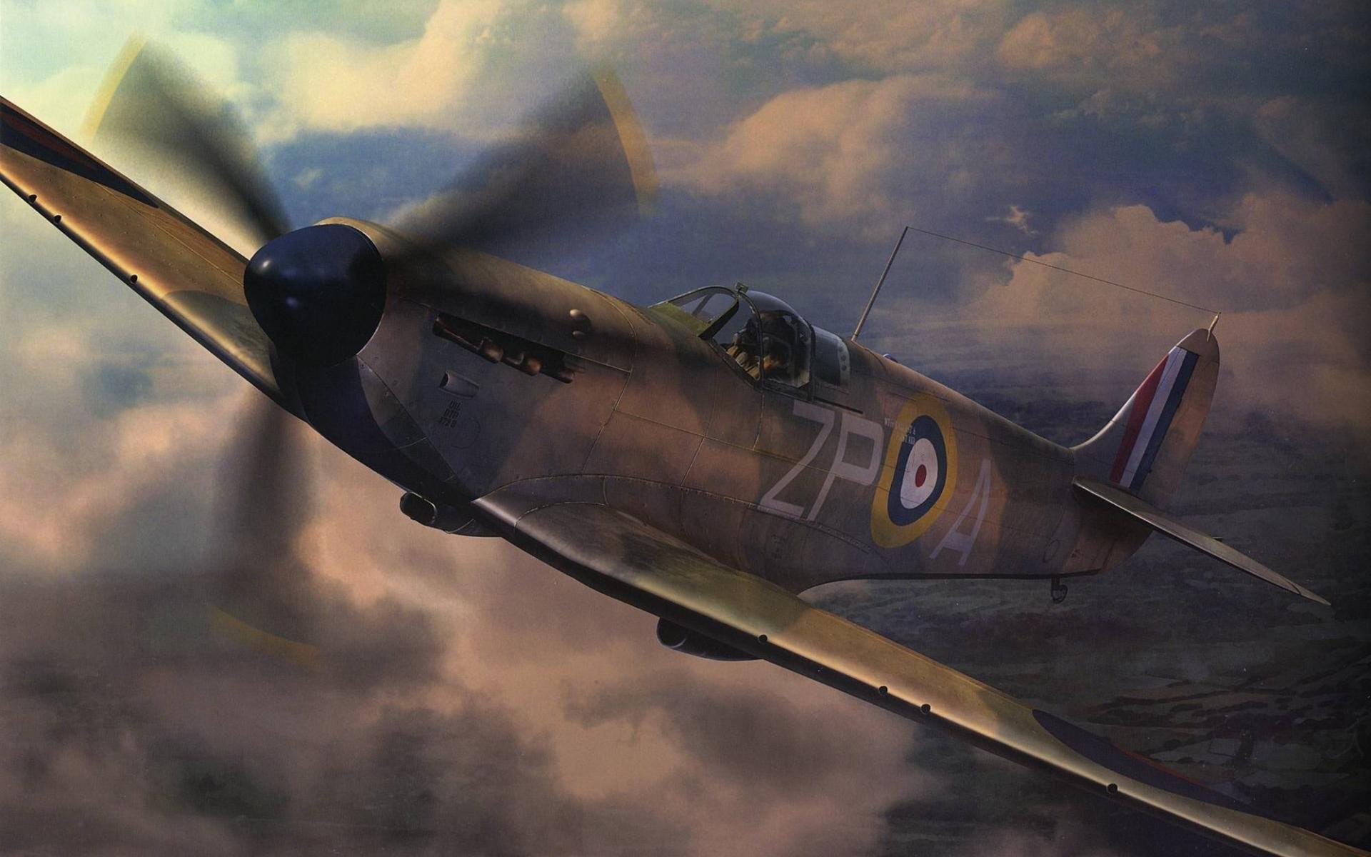 Res: 1920x1200, spitfire wallpaper #133209