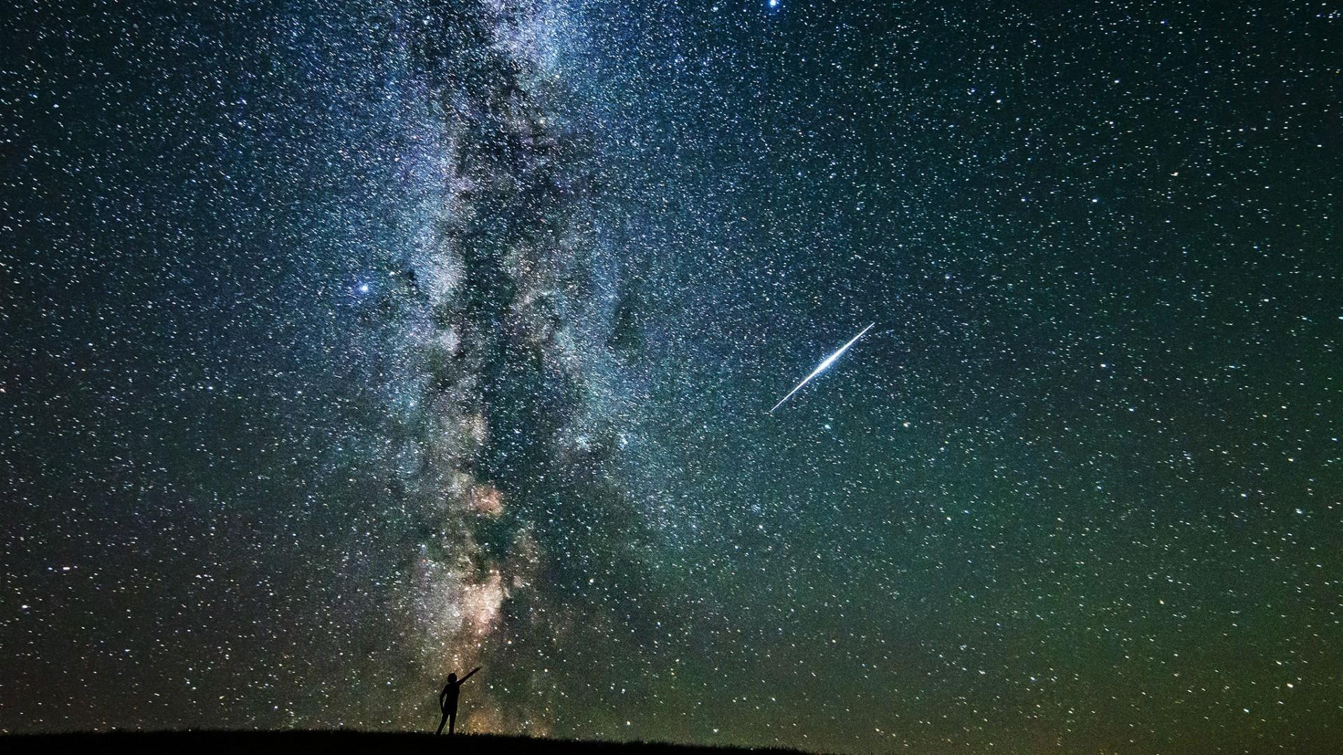 Res: 1920x1080, Shooting Star Galaxy Infinity Stars Wallpaper - HD Wallpapers : HD  Wallpapers