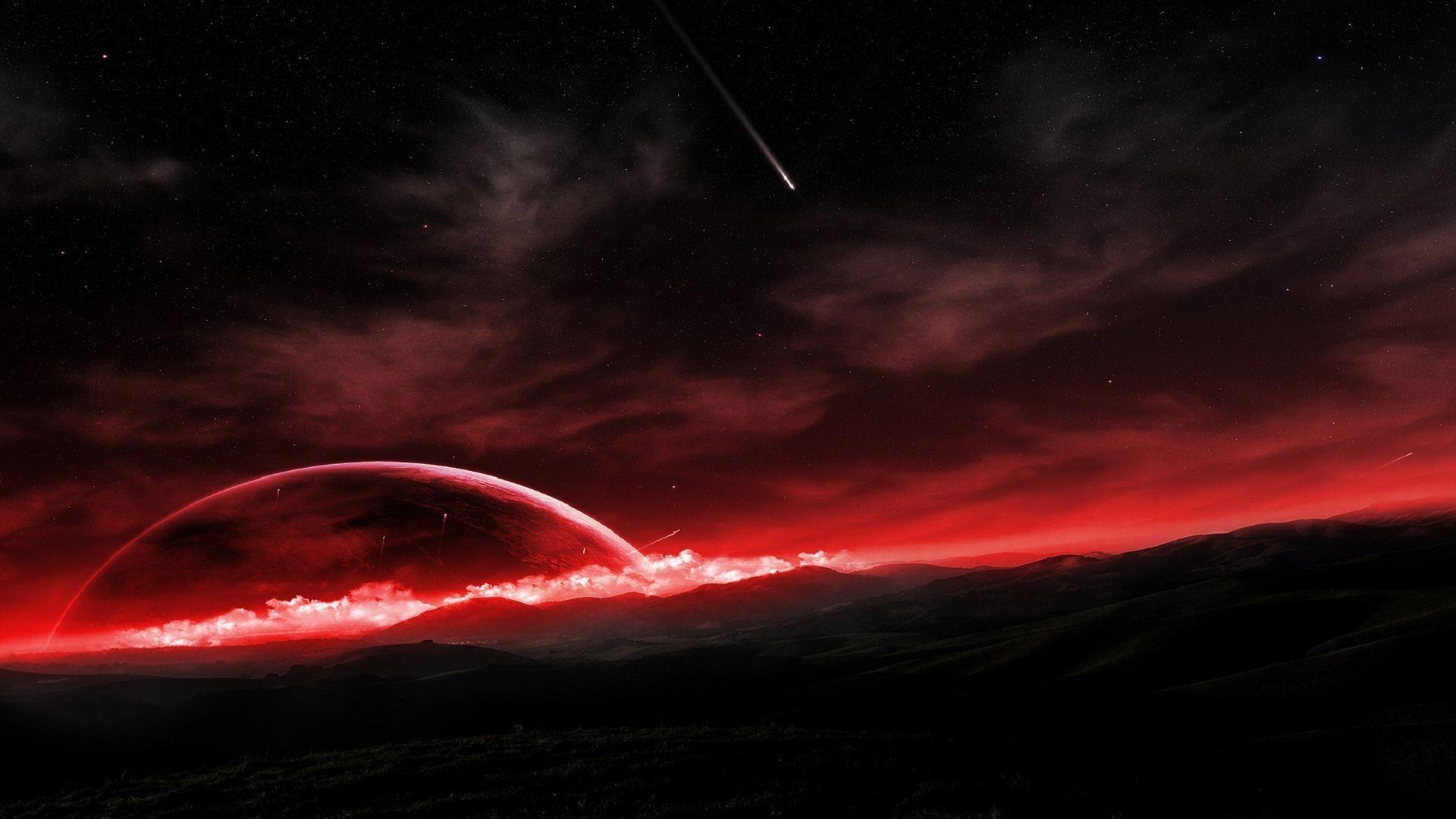 Res: 1920x1080, Shooting stars HD Wallpaper