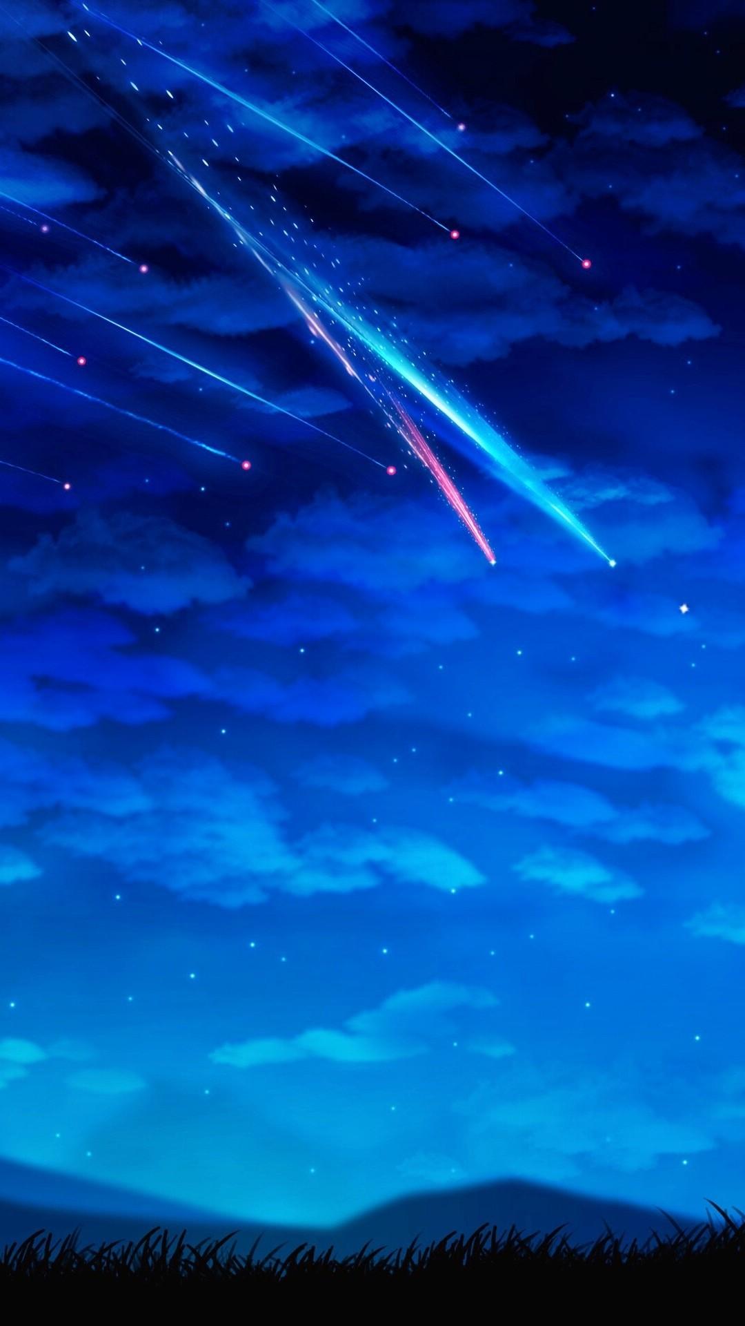 Res: 1080x1920, Shooting star
