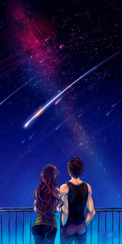 Res: 1497x3000, ... MM: Shooting Stars by cherubchan