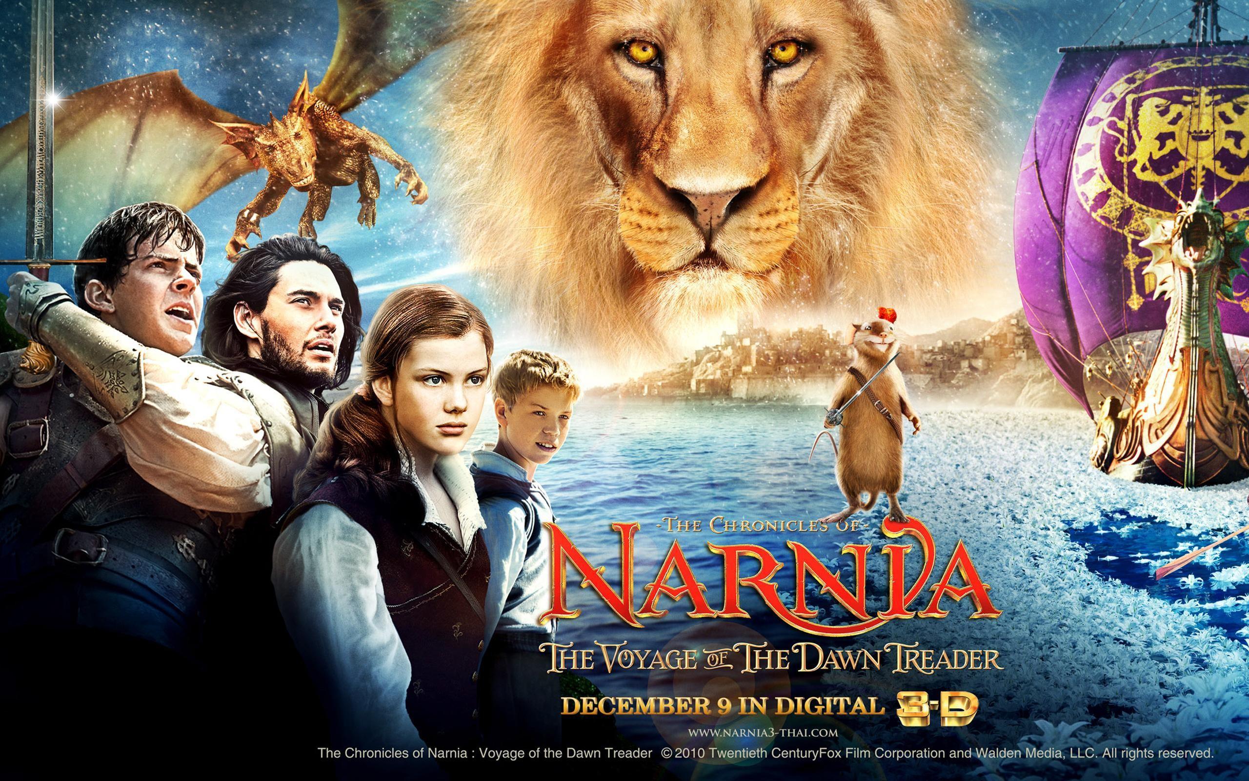 Res: 2560x1600, Die Chroniken von Narnia Reise auf der Morgenröte