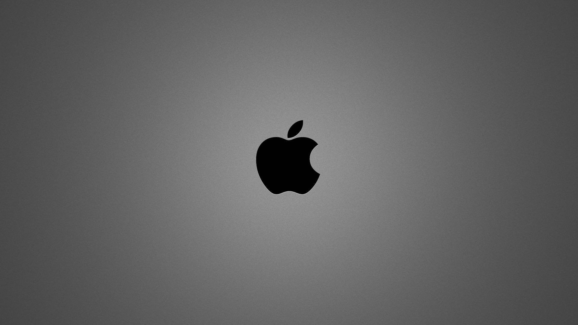 Res: 1920x1080, brushed metal apple