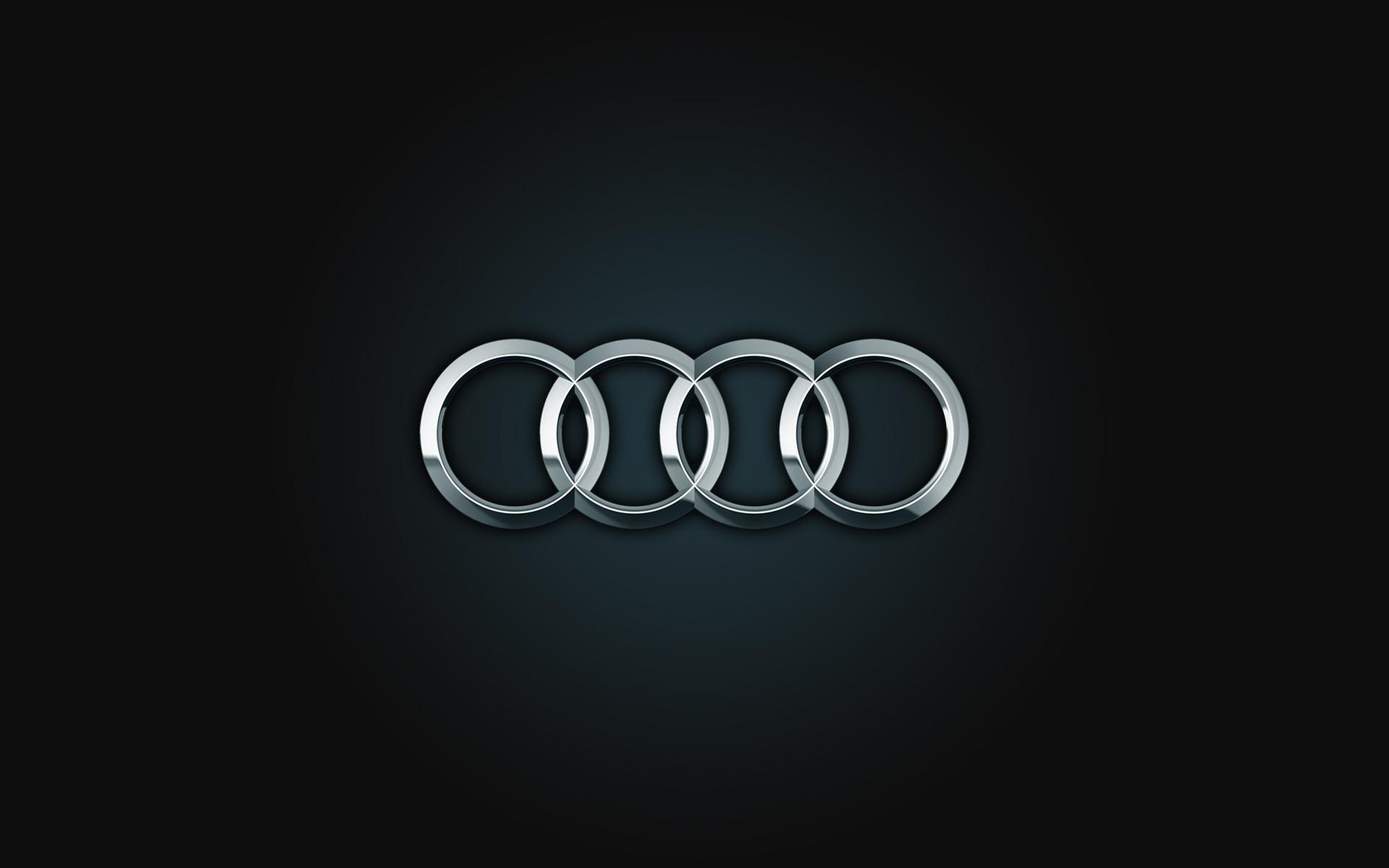 Res: 1920x1200, Audi Logo Widescreen Wallpaper