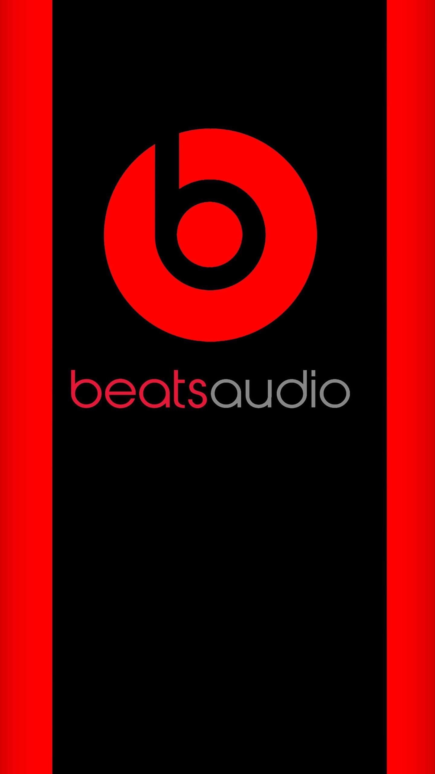 Res: 1440x2560, Beats Audio Hd Logo Wallpaper  380x676