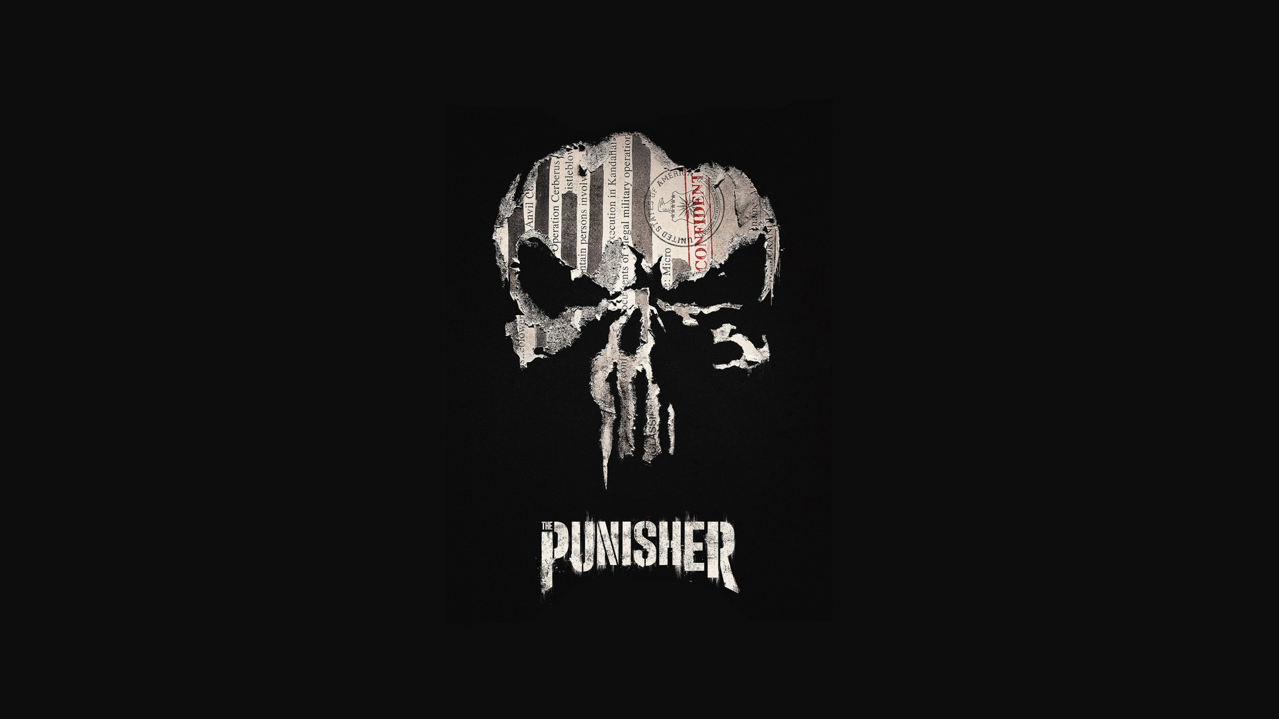 Res: 2560x1440, Movies / Punisher Wallpaper