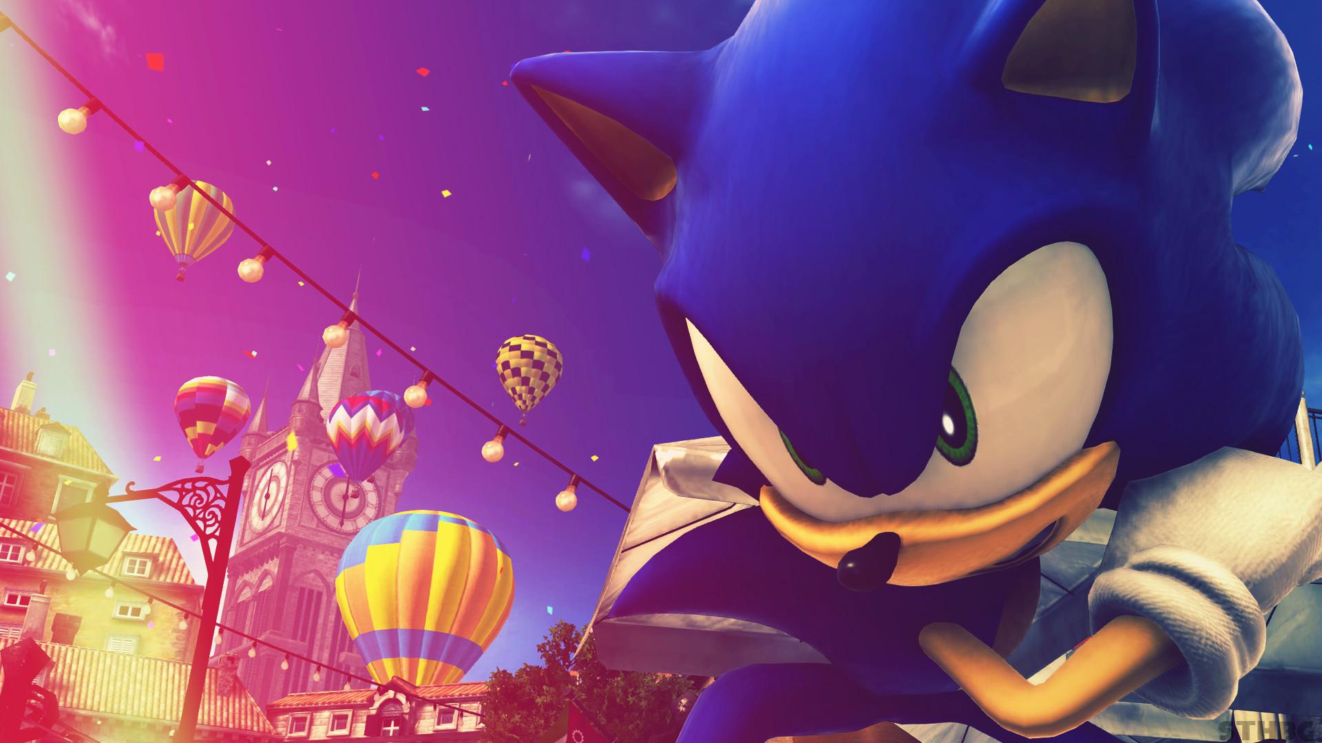 Res: 1920x1080, ... SonicTheHedgehogBG Sonic The Hedgehog - Wallpaper by SonicTheHedgehogBG
