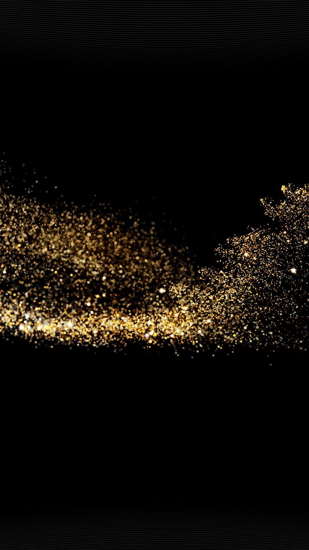 Res: 1080x1920, Gold Sparkle Beauty Dark Pattern #iPhone #6 #plus #wallpaper