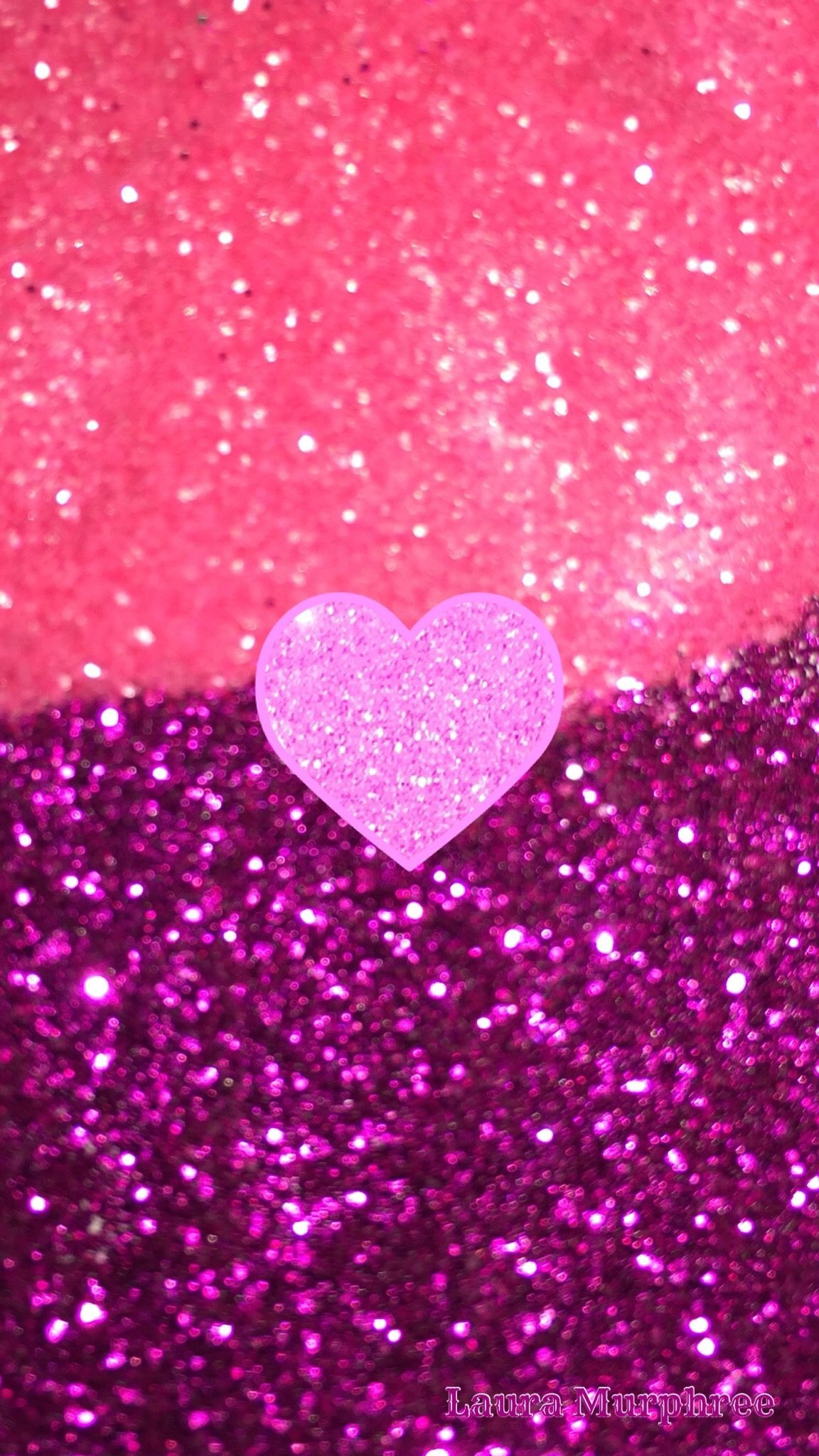 Res: 1152x2048, Glitter phone wallpaper sparkle background sparkling bling shimmer sparkles  glitter glittery colorful heart