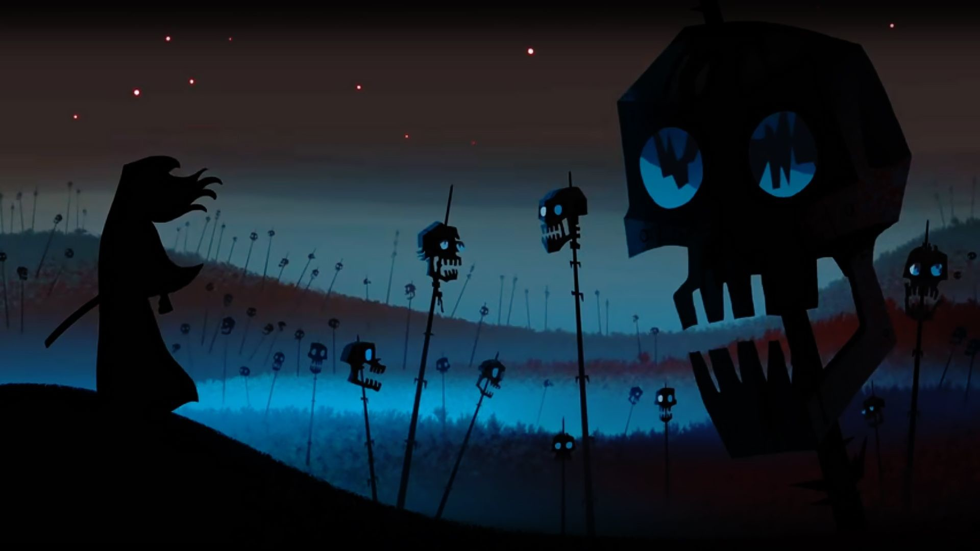Res: 1920x1080, Pitch, Samurai Jack Background, Jack O'connell, Desktop, Environment,  Wicked, Ios, Android, Backgrounds
