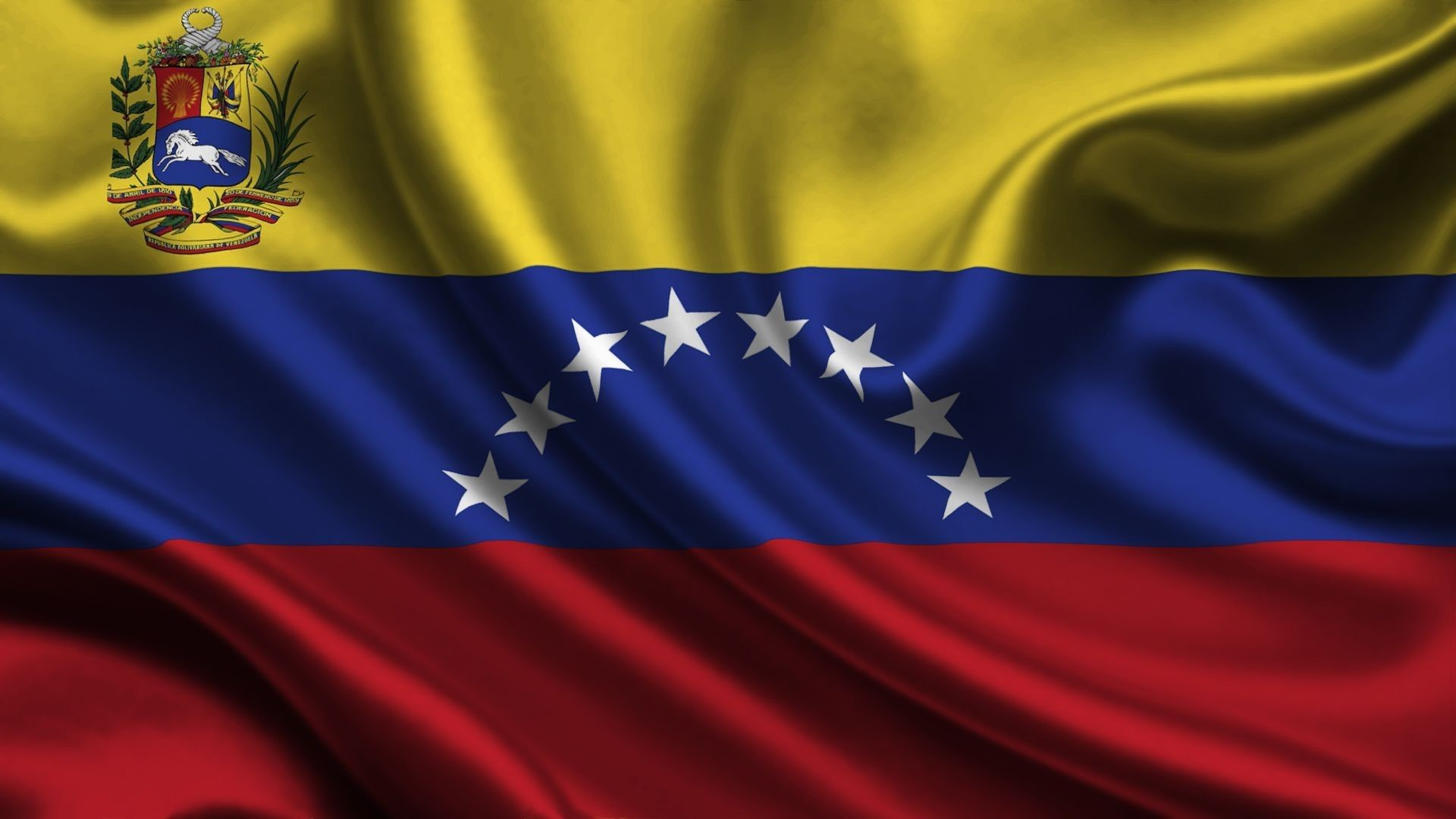 Res: 1920x1080, Flag of Venezuela — one of the state symbols of the Bolivarian Republic.  Represents the rectangular