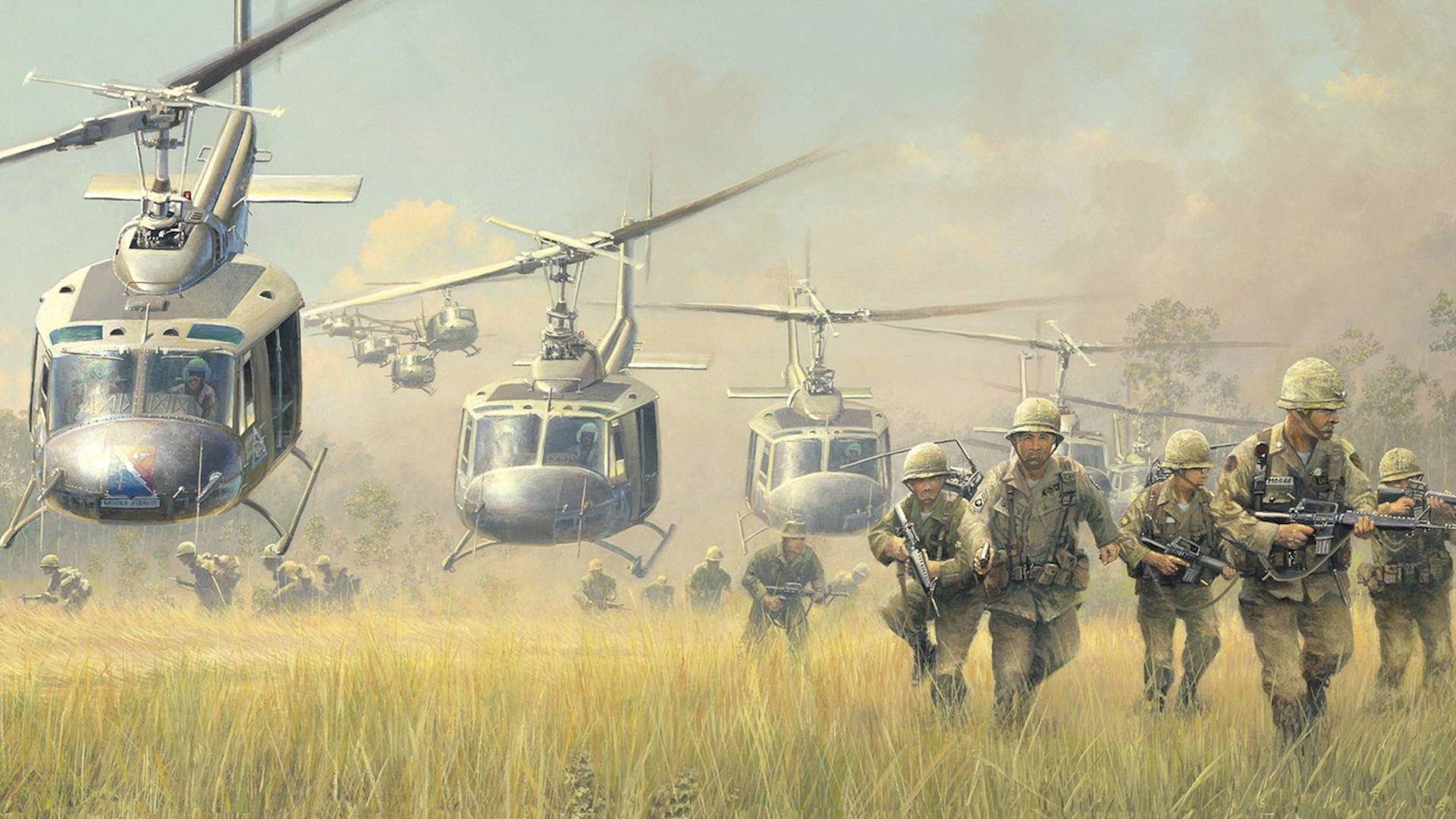 Res: 1920x1080, Wallpaper vietnam, bell, uh-1, iroquois, huey, helicopters, war