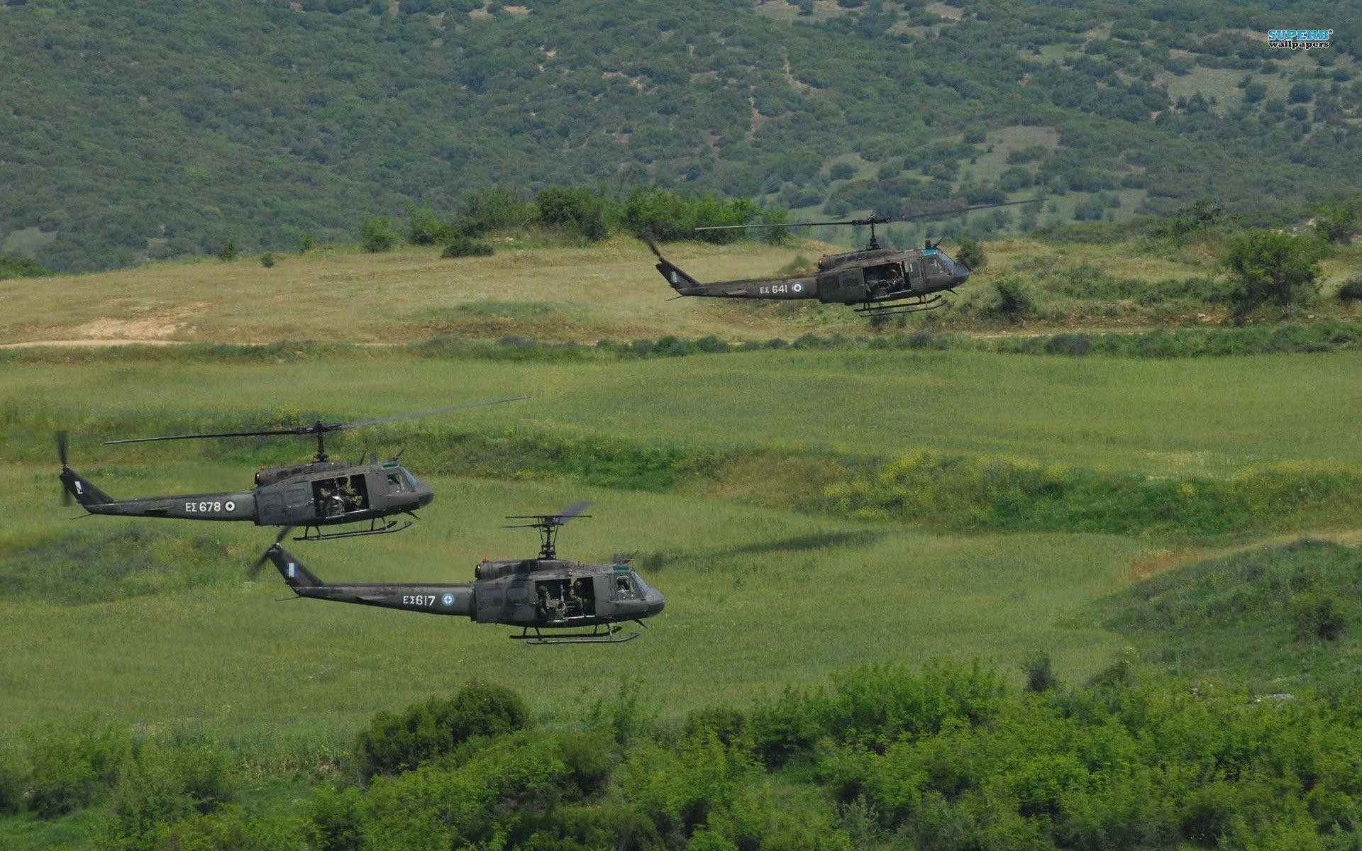 """Res: 1920x1200, Bell UH-1 Iroquois """"Huey"""" wallpaper - Aircraft wallpapers - #"""
