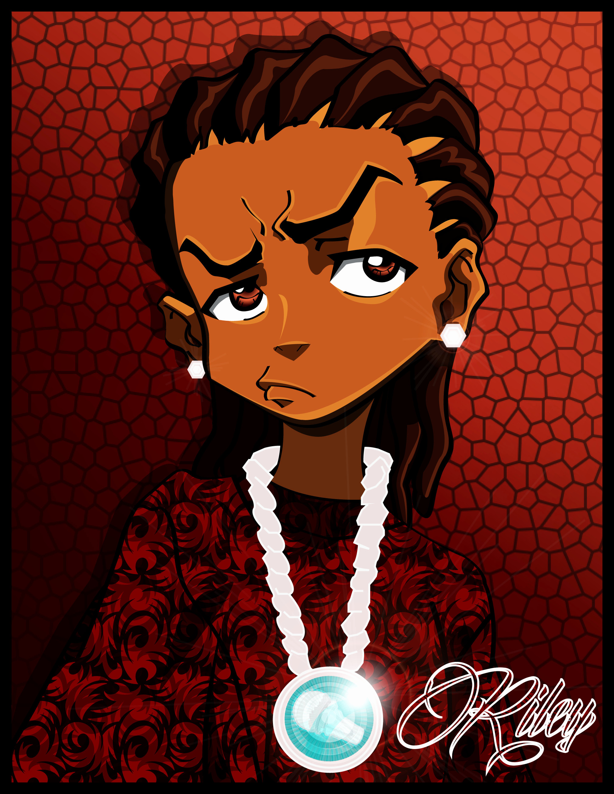 Res: 2020x2614, Boondocks Wallpaper Awesome Boondocks Wallpaper Huey and Riley 60 Images