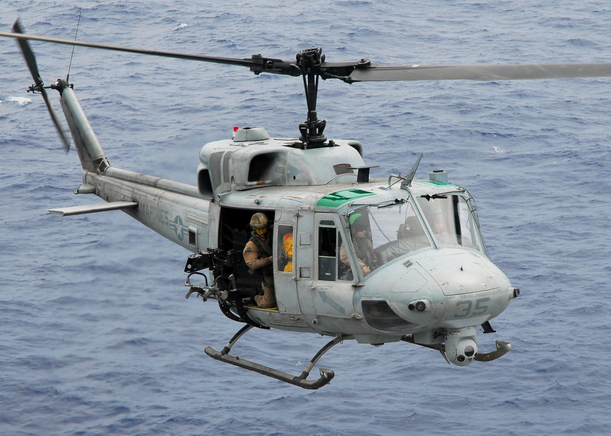 Res: 2100x1500, File:US Navy 081017-N-2183K-014 A UH-1N Twin