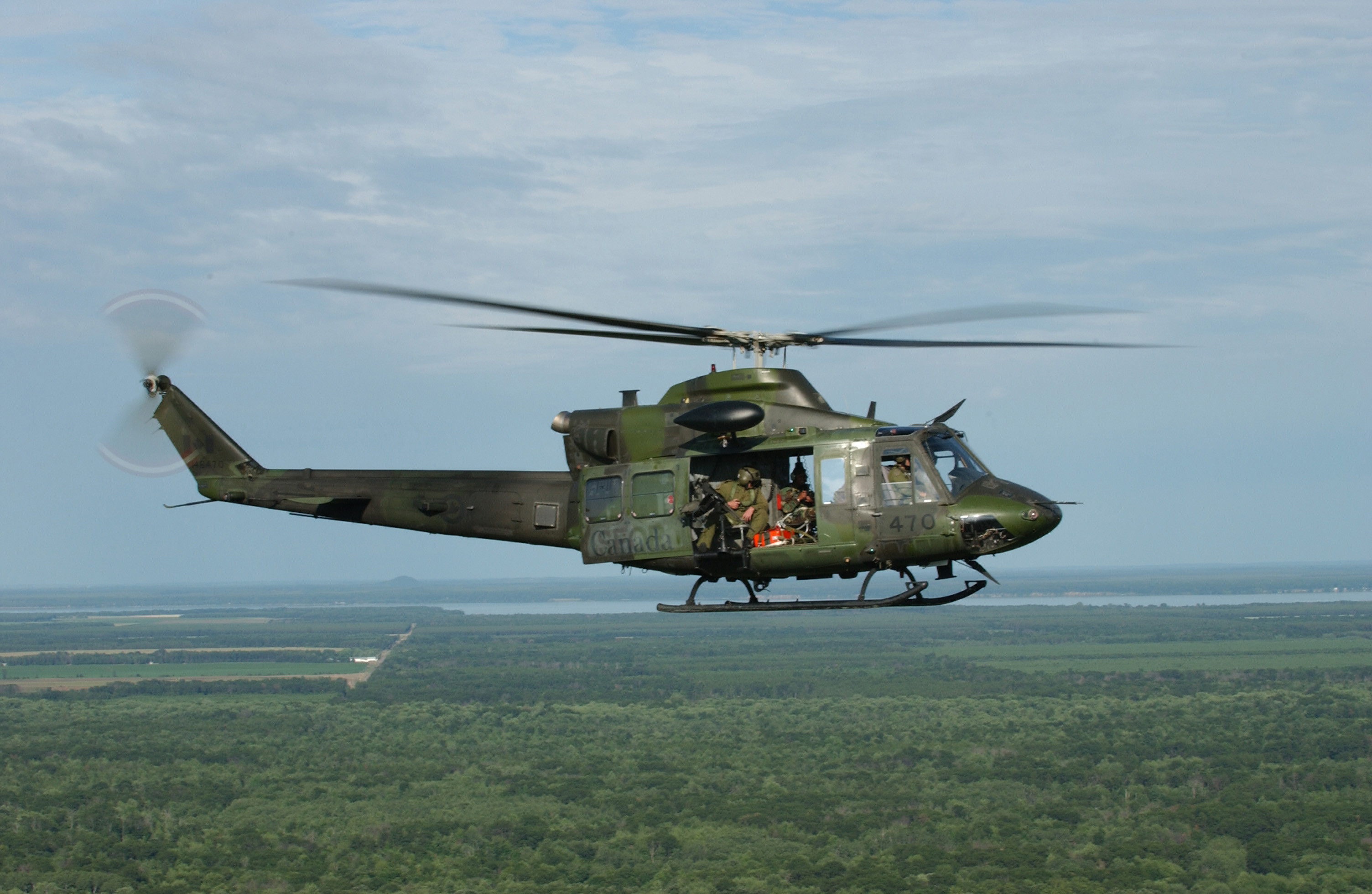 Res: 3008x1960, Bell CH-146 Griffon