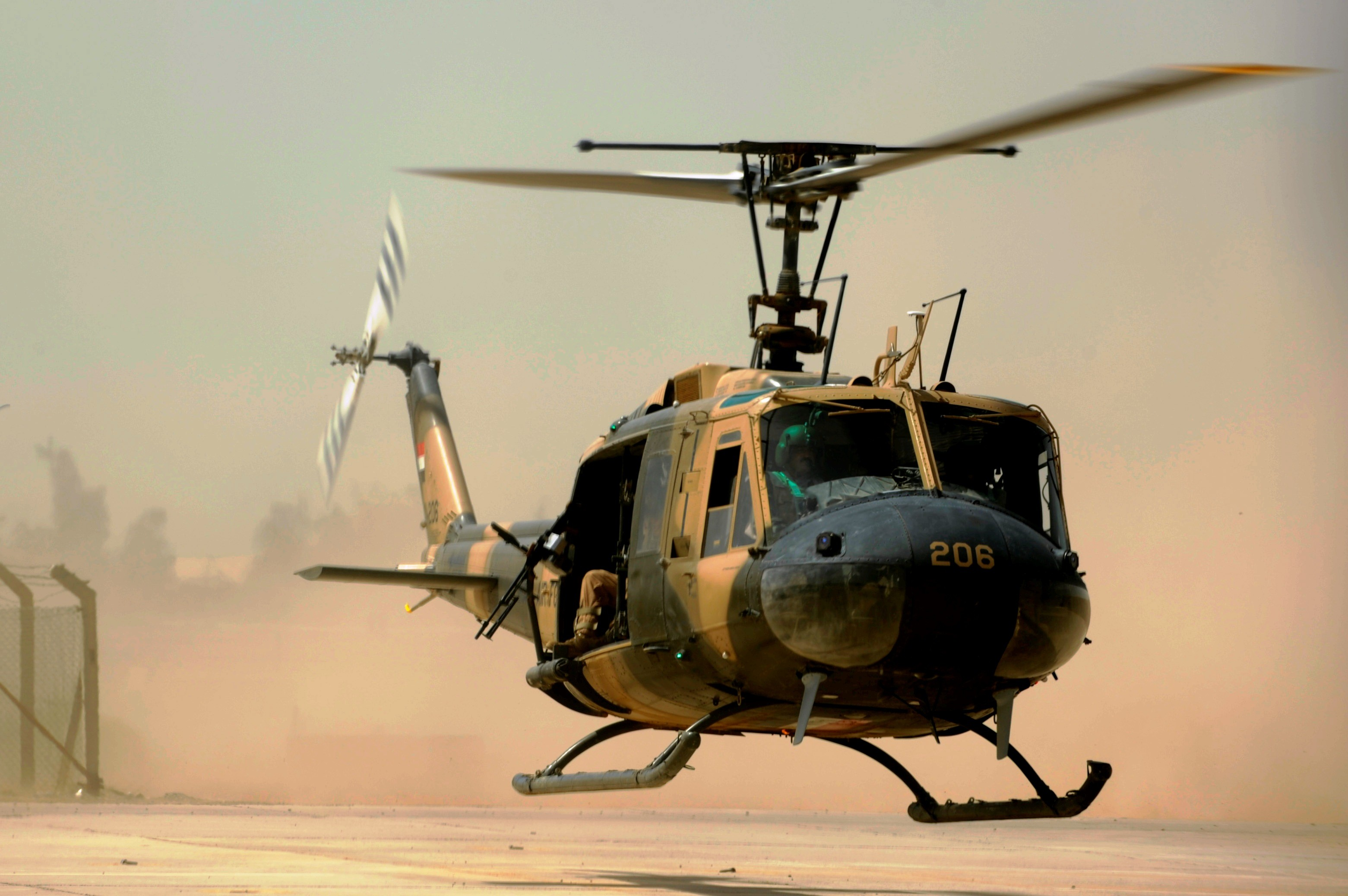 Res: 3122x2077, File:Iraqi air force UH-1H II Huey helicopter.JPG