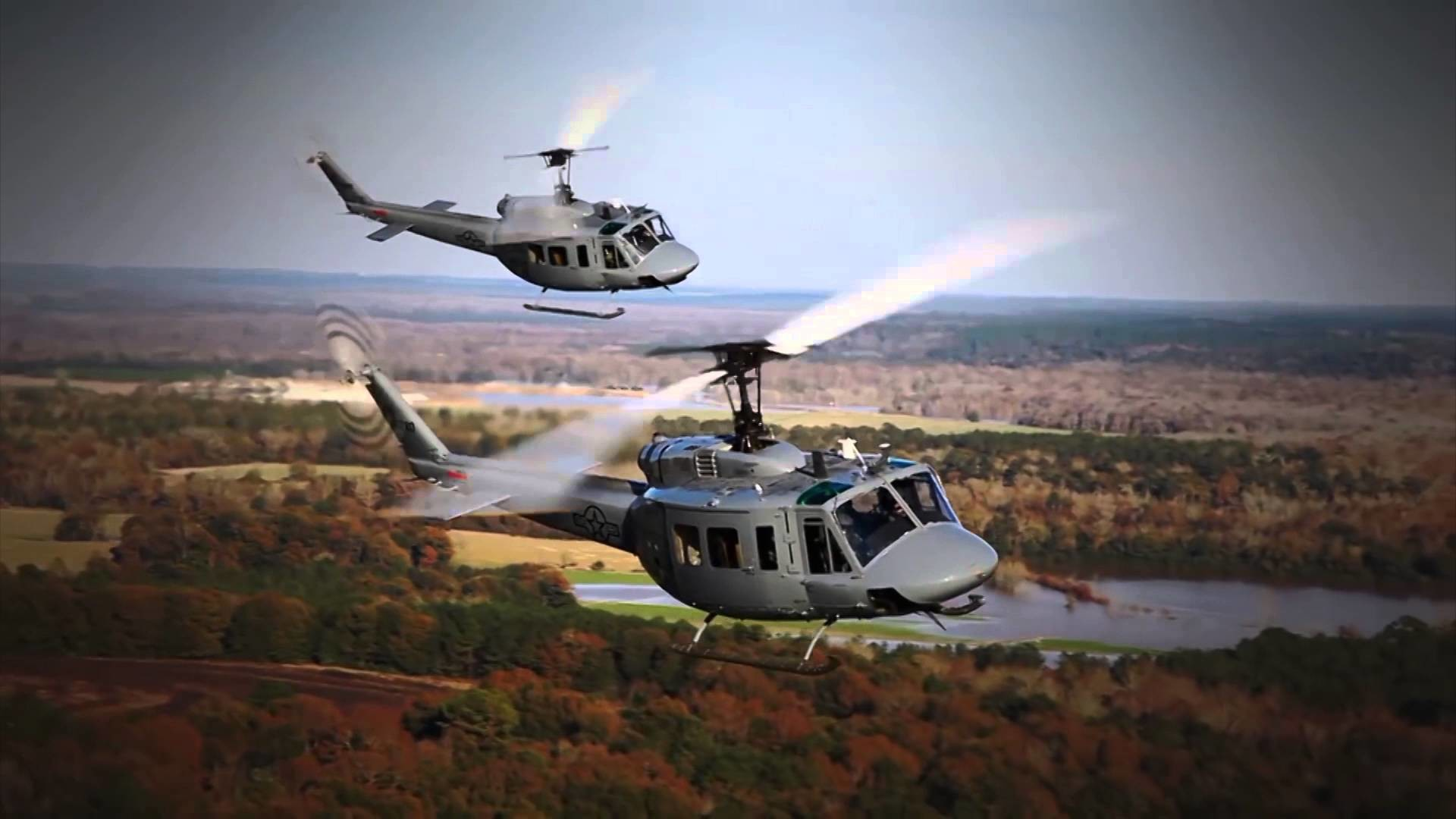 Res: 1920x1080, United States Constructing A Hangar For 5 UH-1H Huey II Helicopters Given  To Uganda