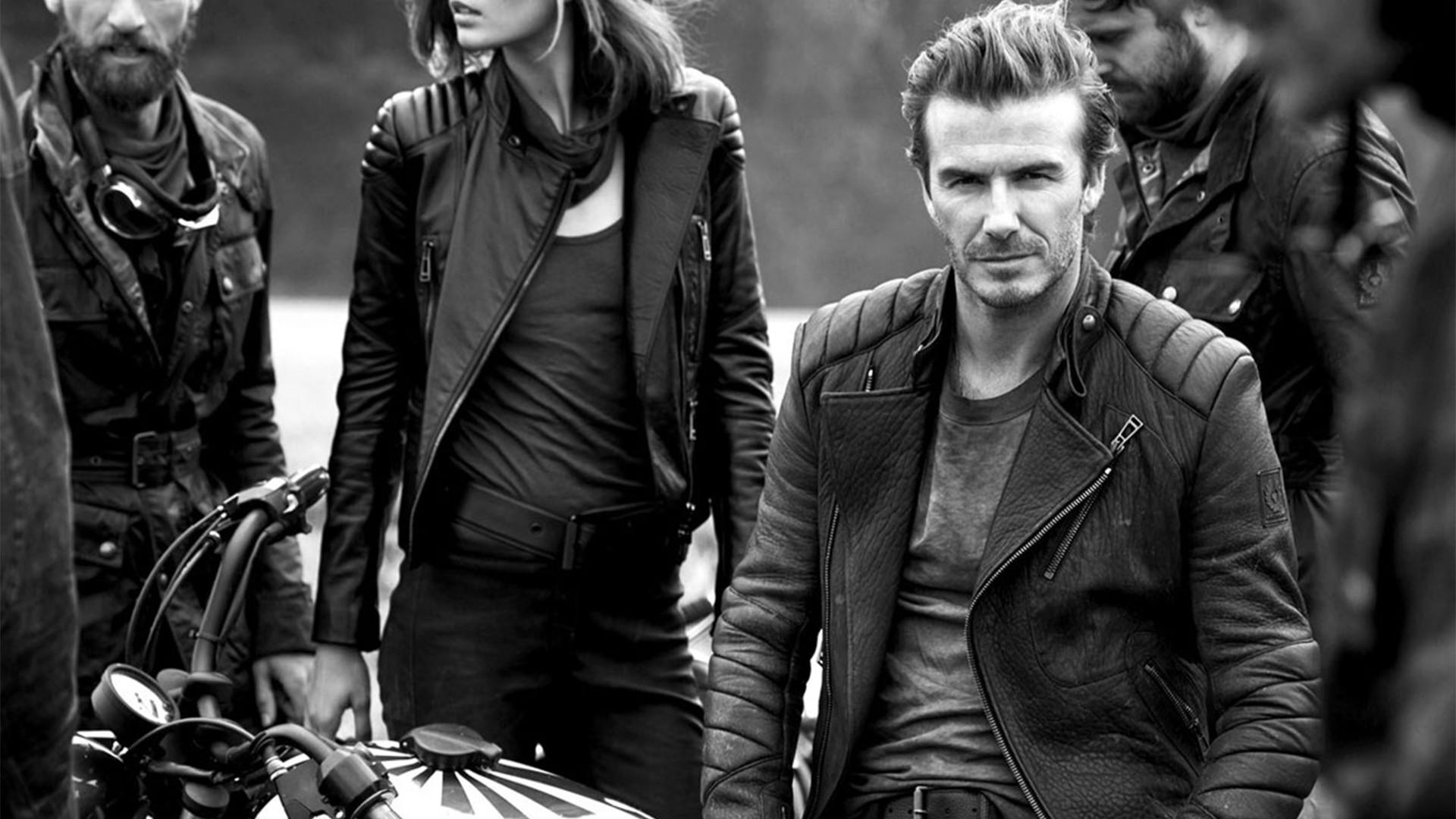 Res: 1920x1080, David Beckham Motorcycle Style